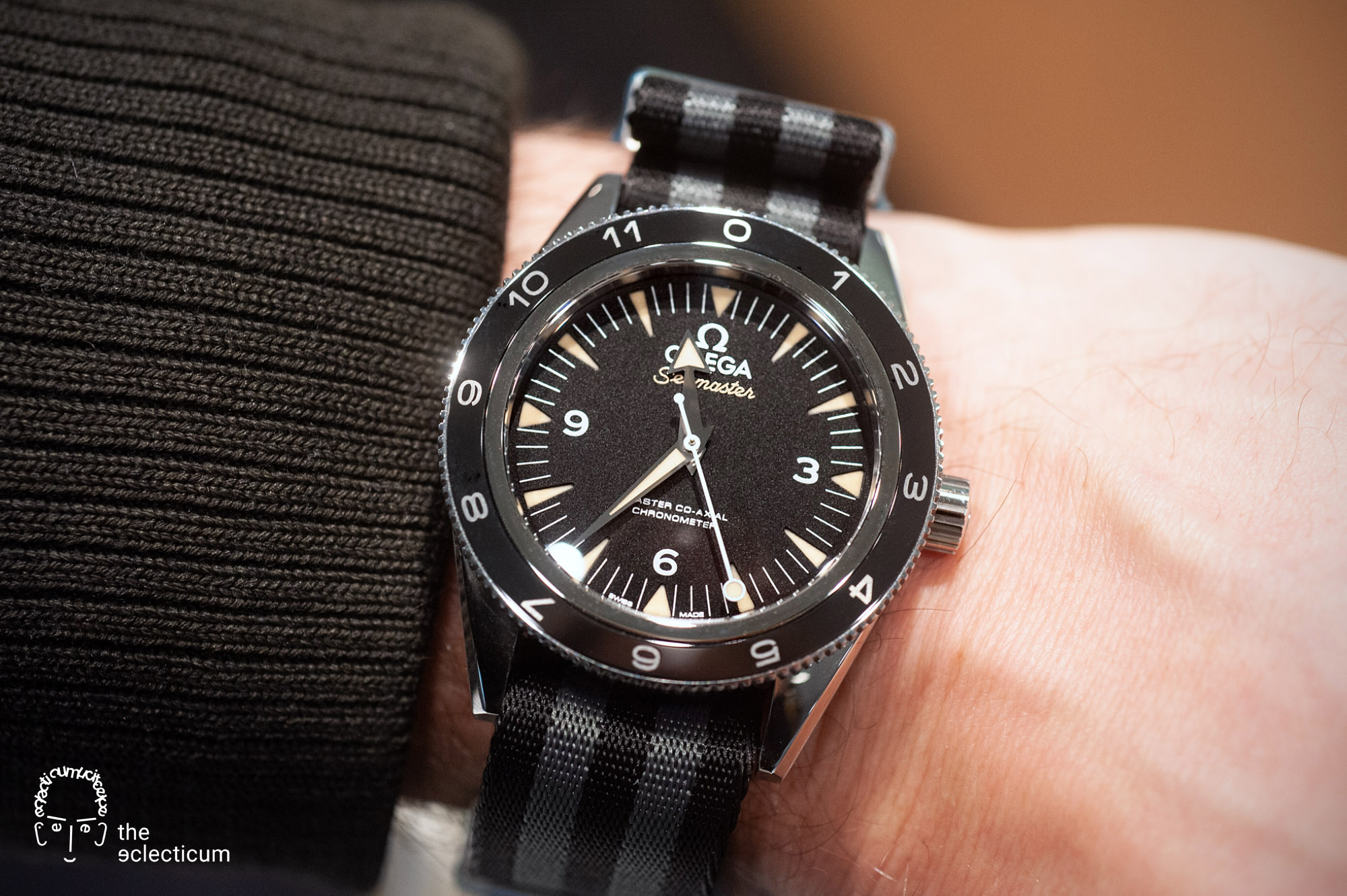 Omega, Seamaster, Seamaster Diver, 300M, Omega 007, Omega James Bond, James Bond, 007, Seamaster Spectre, Seamaster 300M, Omega Seamaster, James Bond 007, 007 Edition, Co‑Axial Master Chronometer, NATO strap, military timepiece, double-0 agents, Bond-Factor