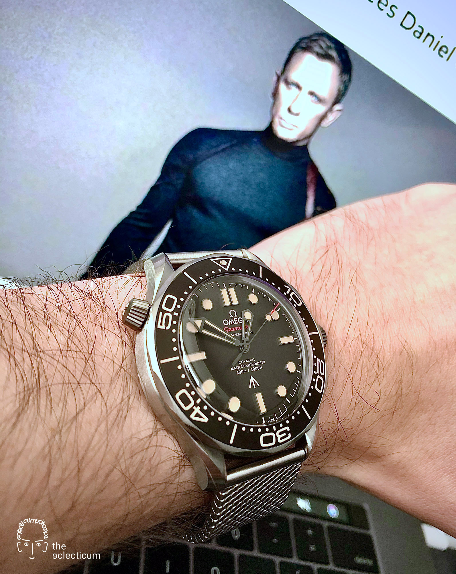 Omega, Seamaster, Seamaster Diver, 300M, Omega 007, Omega James Bond, James Bond, 007, No Time to Die, Seamaster 300M, Omega Seamaster, James Bond 007, 007 Edition, Titanium Grade 2, NAIAD LOCK-System, METAS certified, Co‑Axial Master Chronometer, Calibre 8806, NATO strap, military timepiece, double-0 agents, NAIAD, Bond-Factor
