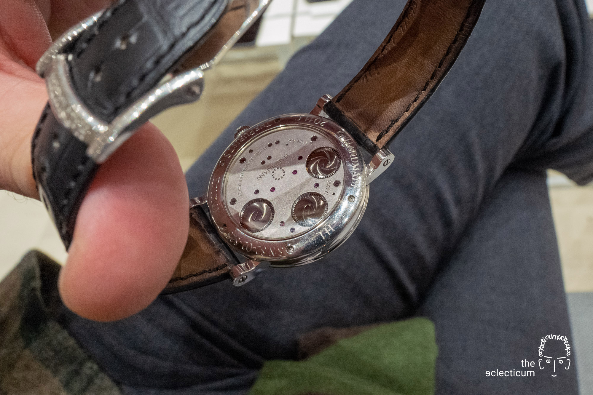 Haldimann H1 Flying central tourbillon ahci independent watchmaking