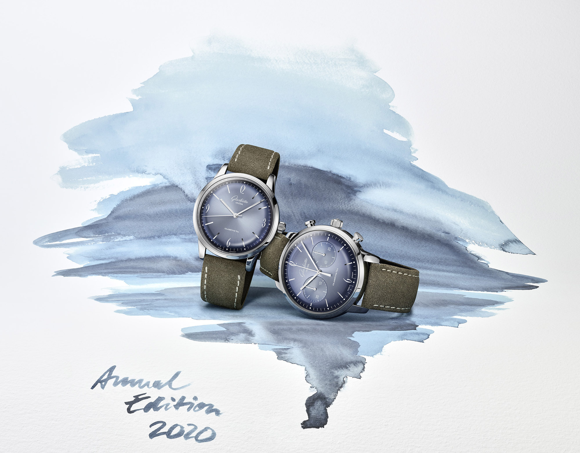 Glashütte Original Sixties Annual Edition 2020 Glacier Blue