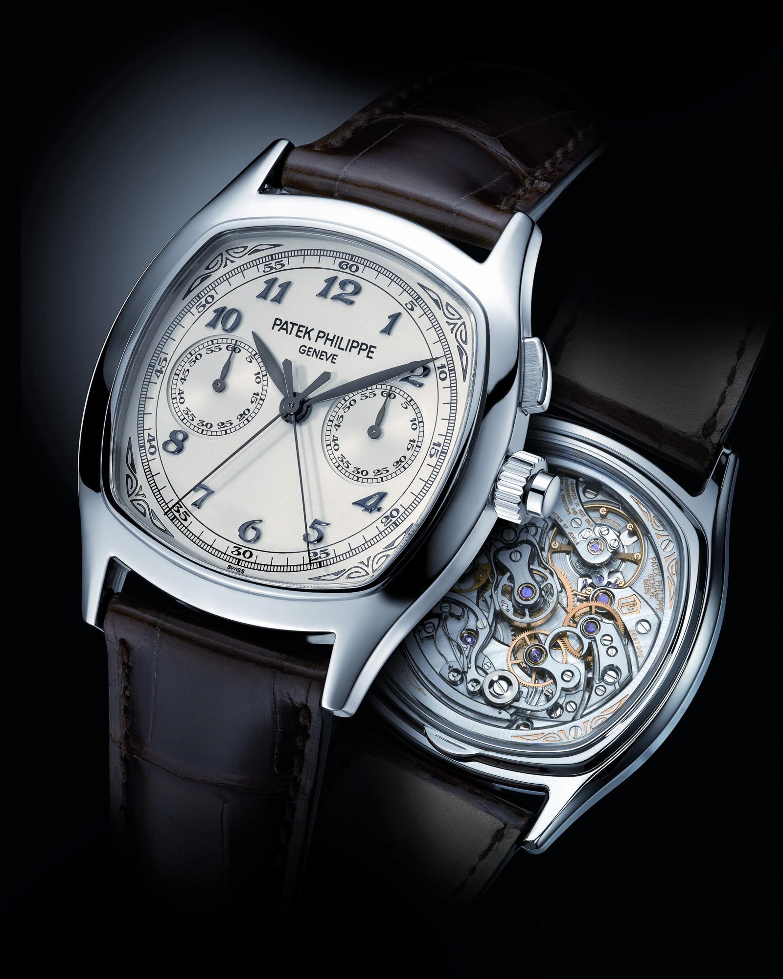 Patek Philippe Split seconds chronograph rattrapante 5950 monopusher