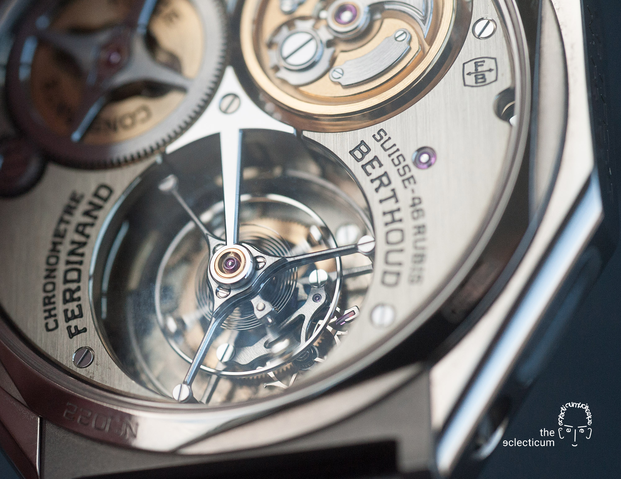 Ferdinand Berthoud Chronometry FB 1 chronometer fusee chain chaine tourbillon movement