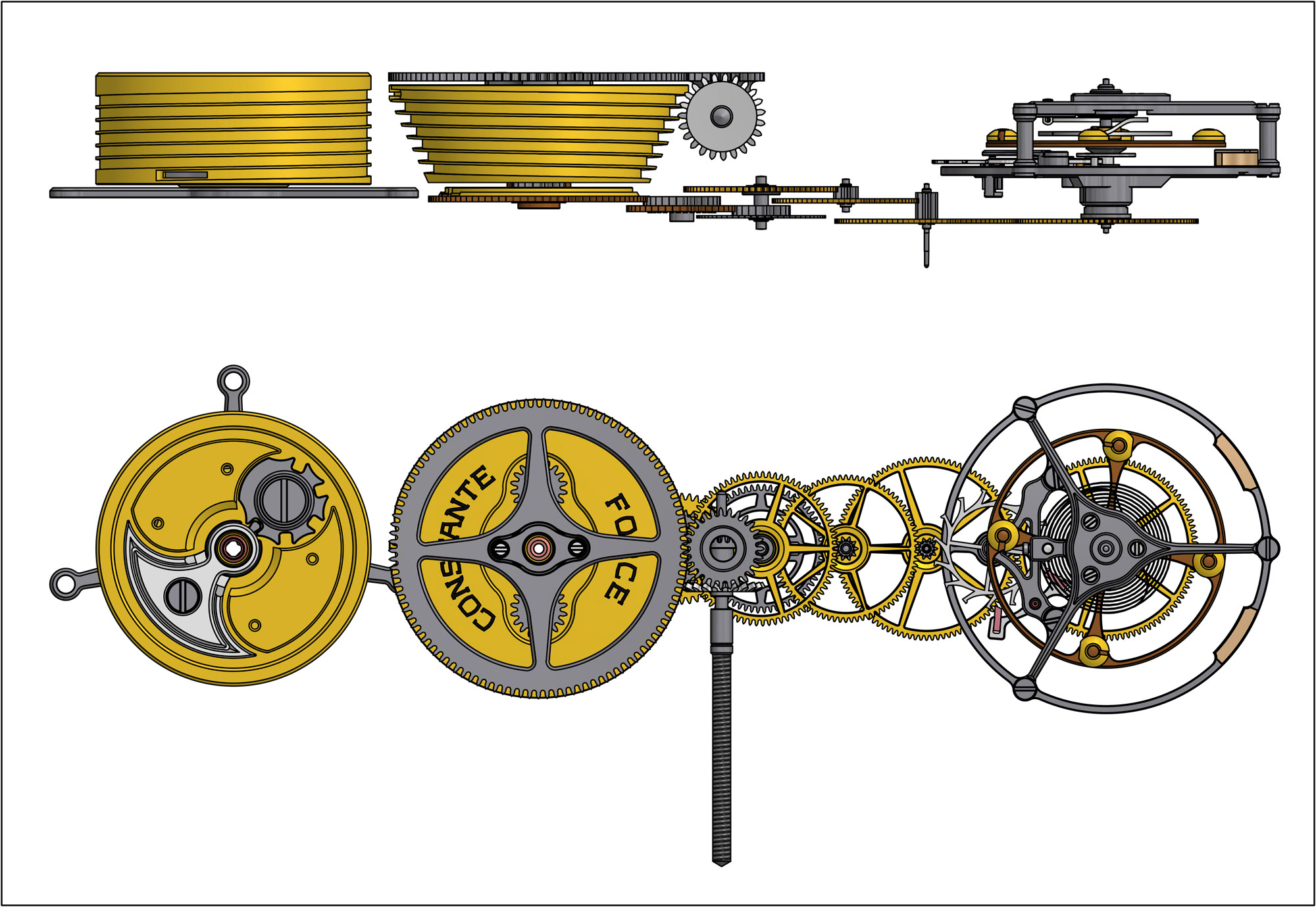 Ferdinand Berthoud Chronometry FB 1R 1L 1 chronometer tourbillon assembly watchmaking gear train
