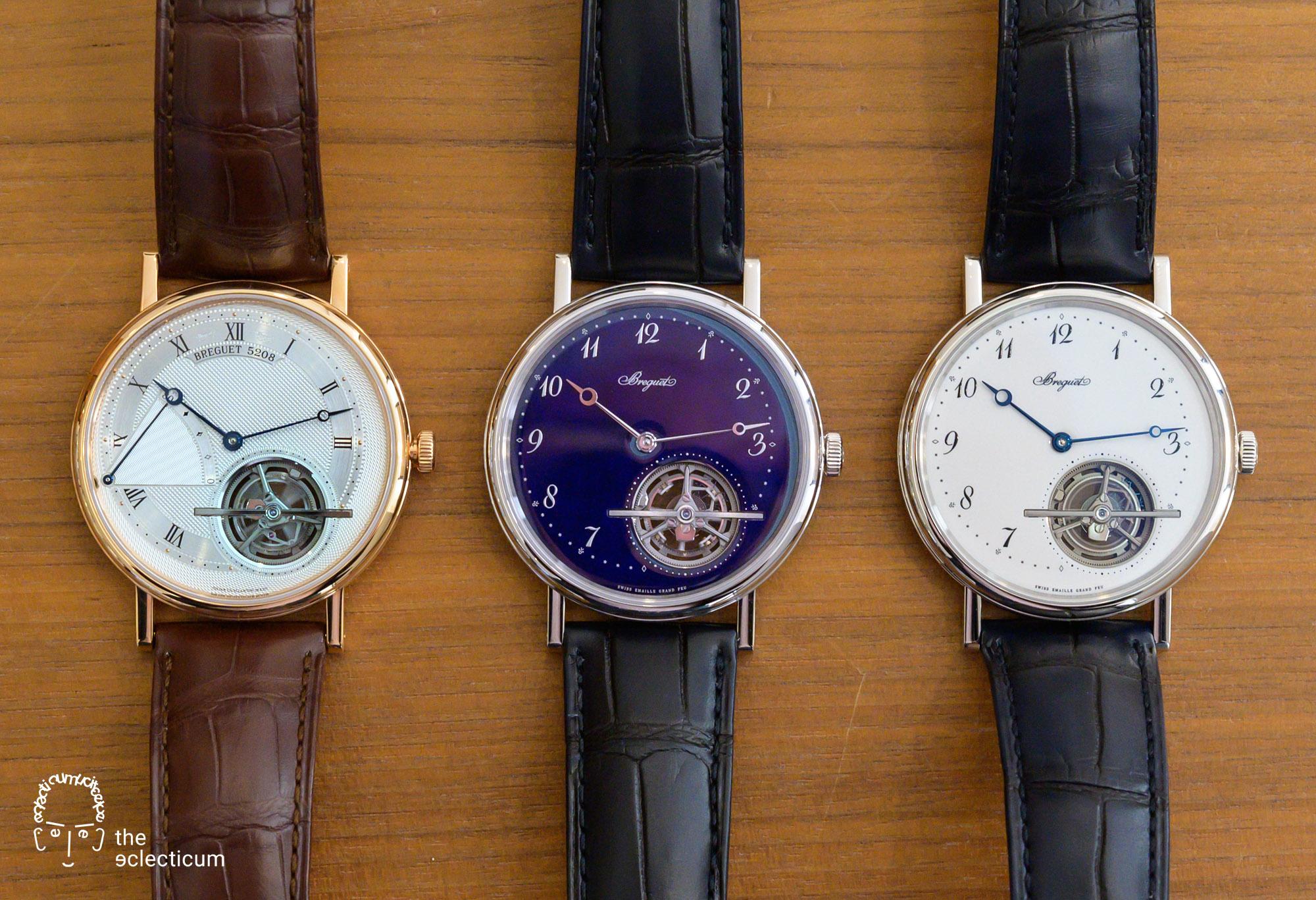 Breguet Classique Tourbillon Extra-Plat Blue Ref. 5367PT 5377 Grand Feu Enamel