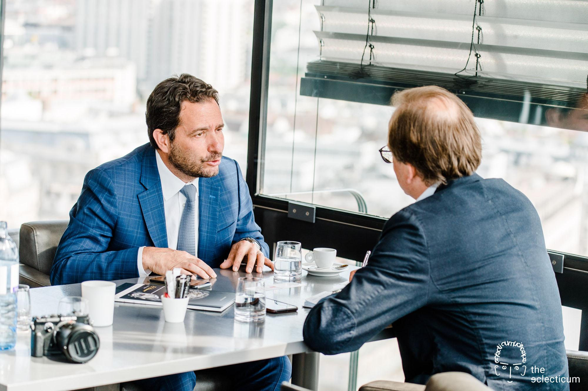 Zenith Interview Julien Tornare Magnus Bosse