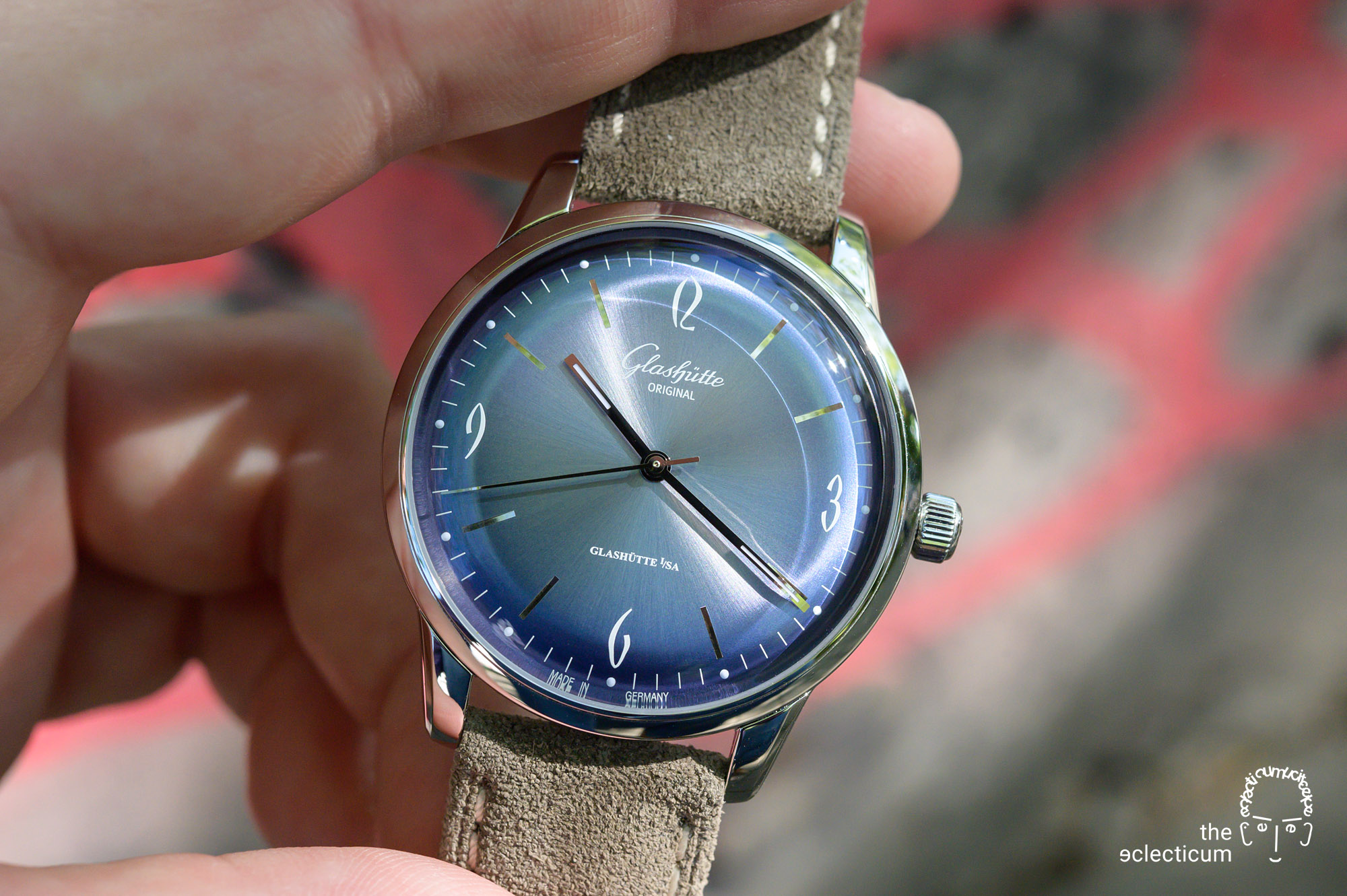Glashütte Original Sixties Annual Edition 2020 Glacier Blue Time Only