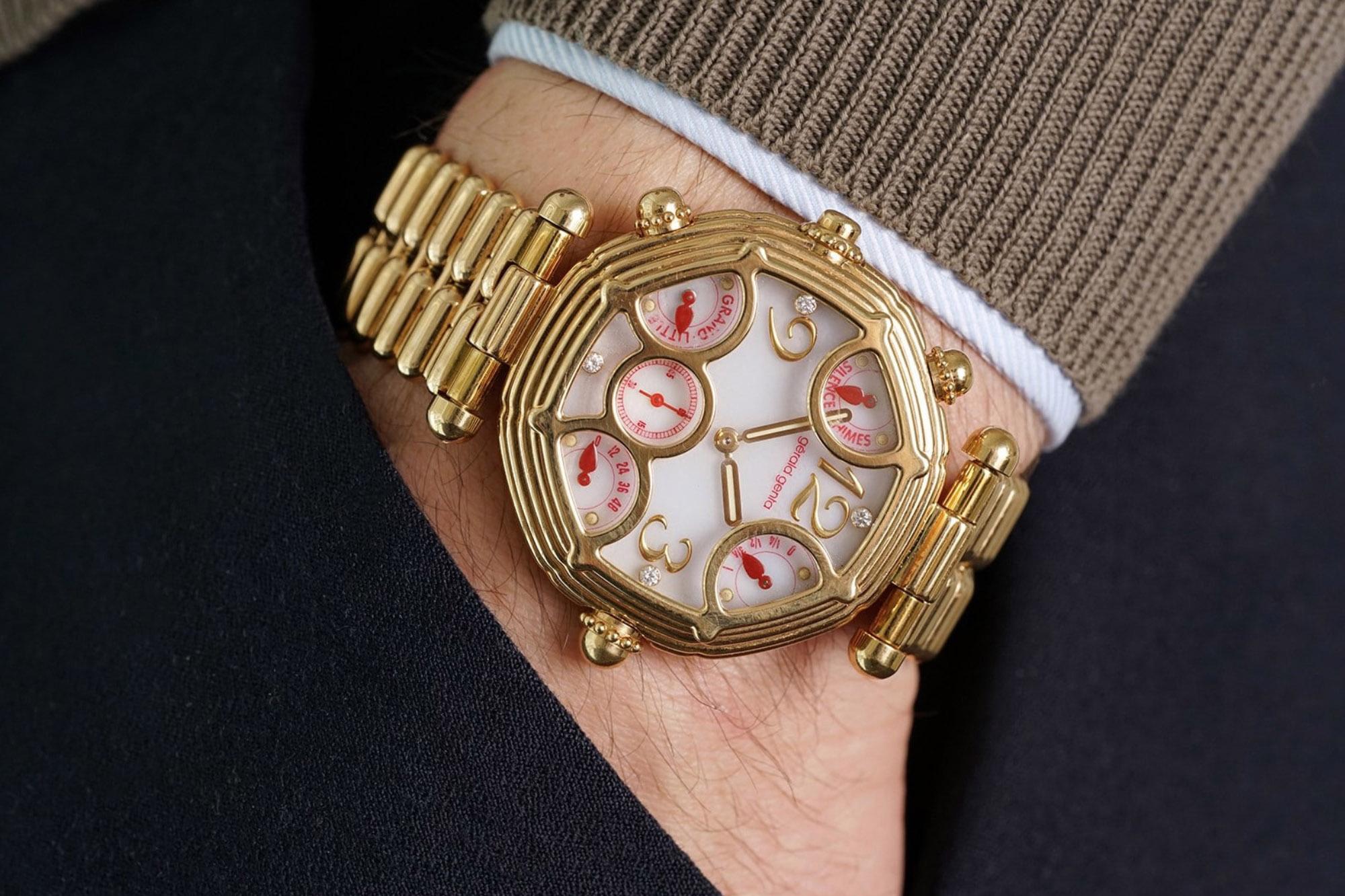Gerald Genta Grande et Petite Sonnerie wristshot