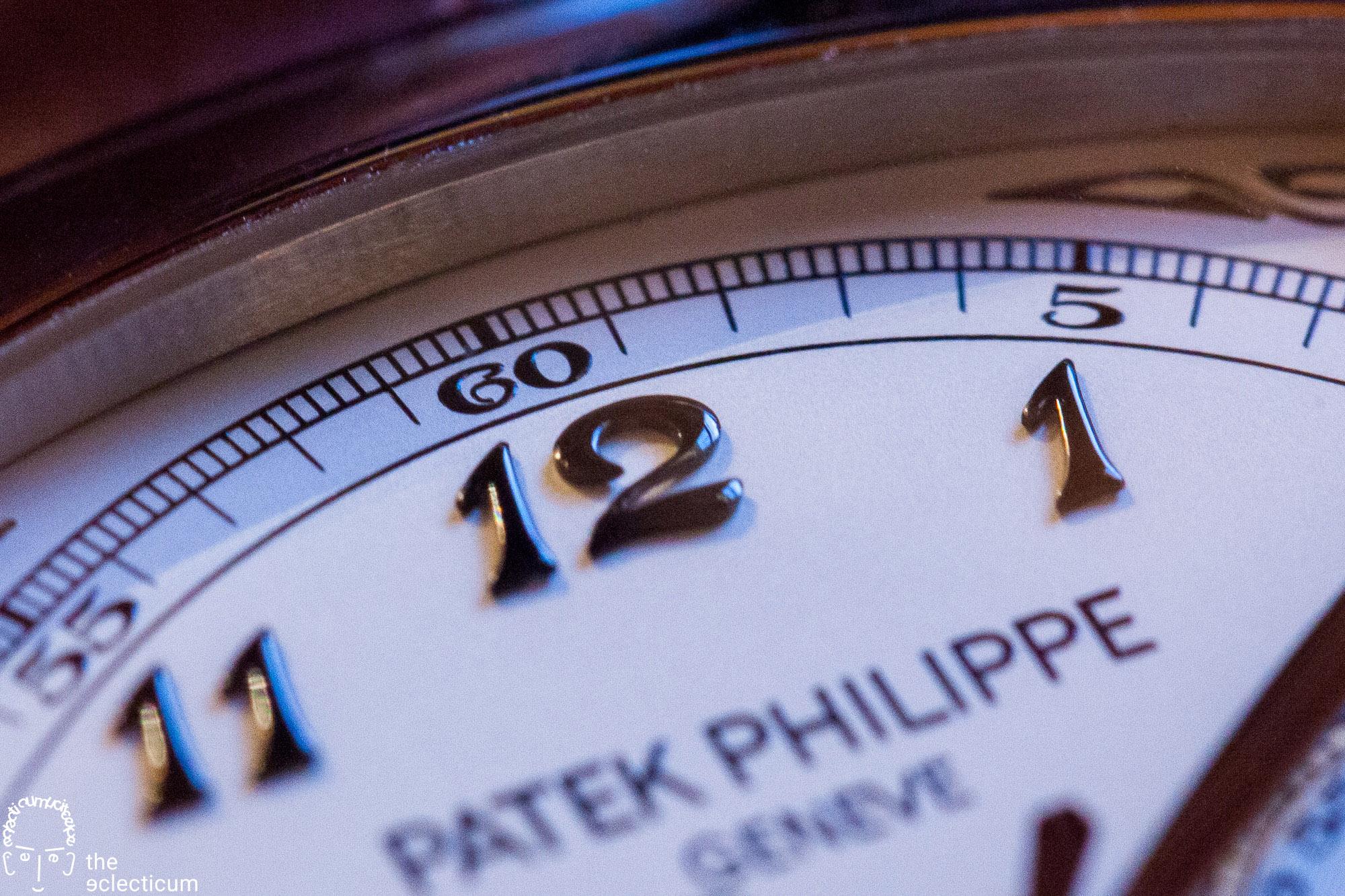 Patek Philippe Split seconds chronograph rattrapante 5950 dial