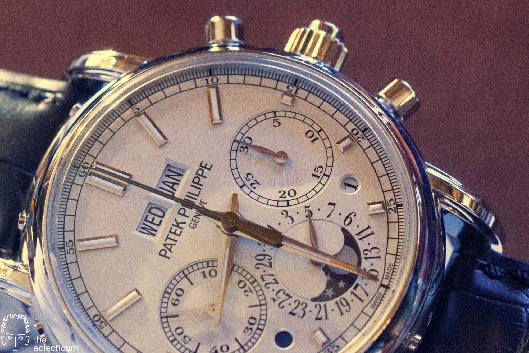 Patek Philippe 5204P rattrapante split-seconds chronograph perpetual calendar