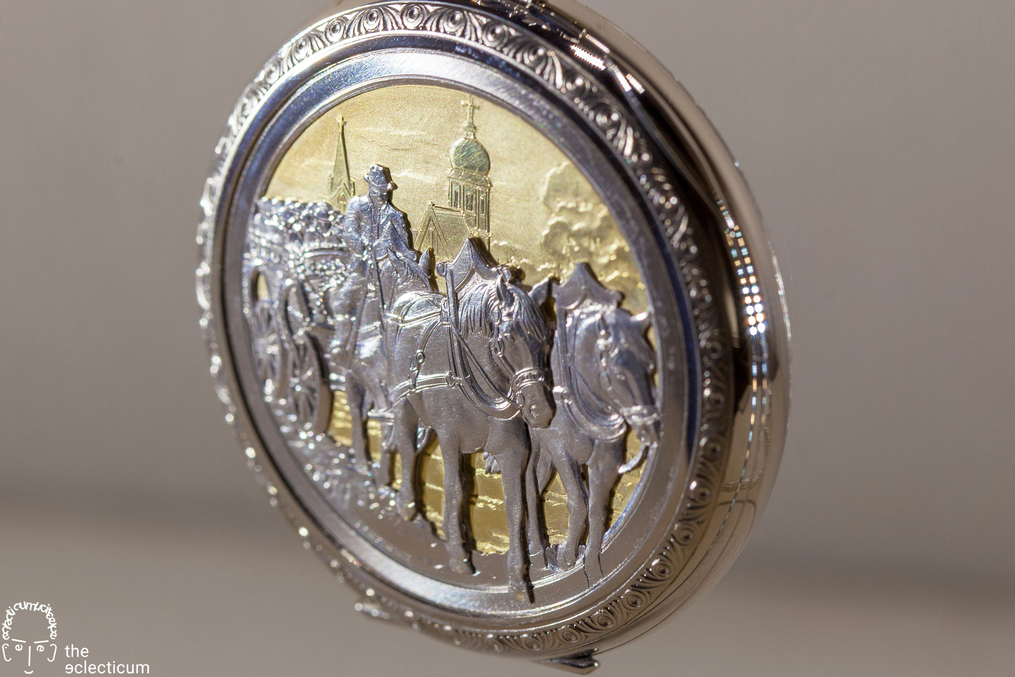 Patek Philippe pocket watch engraved
