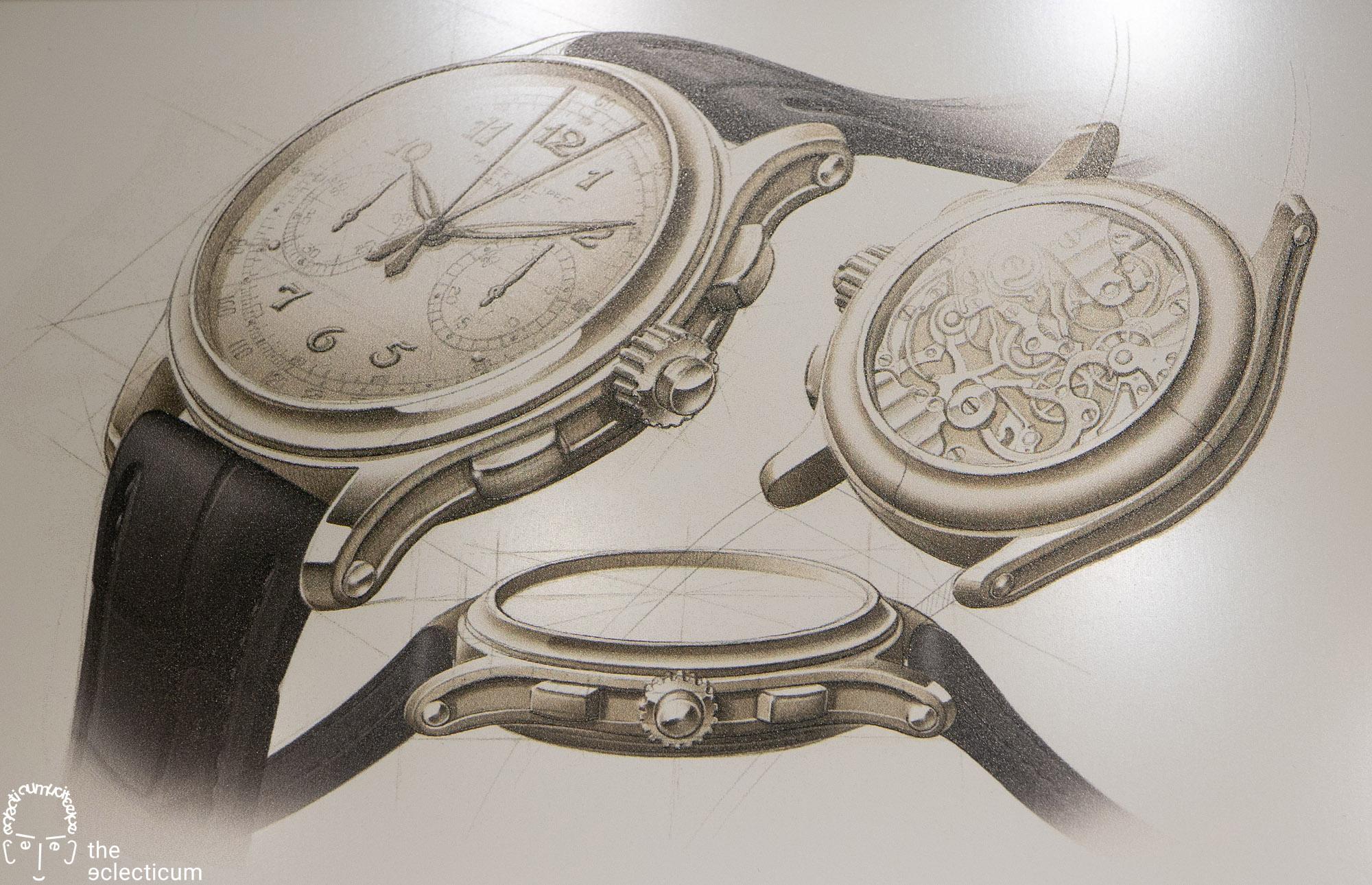 Patek Philippe 5370P Split-Seconds Chronograph design