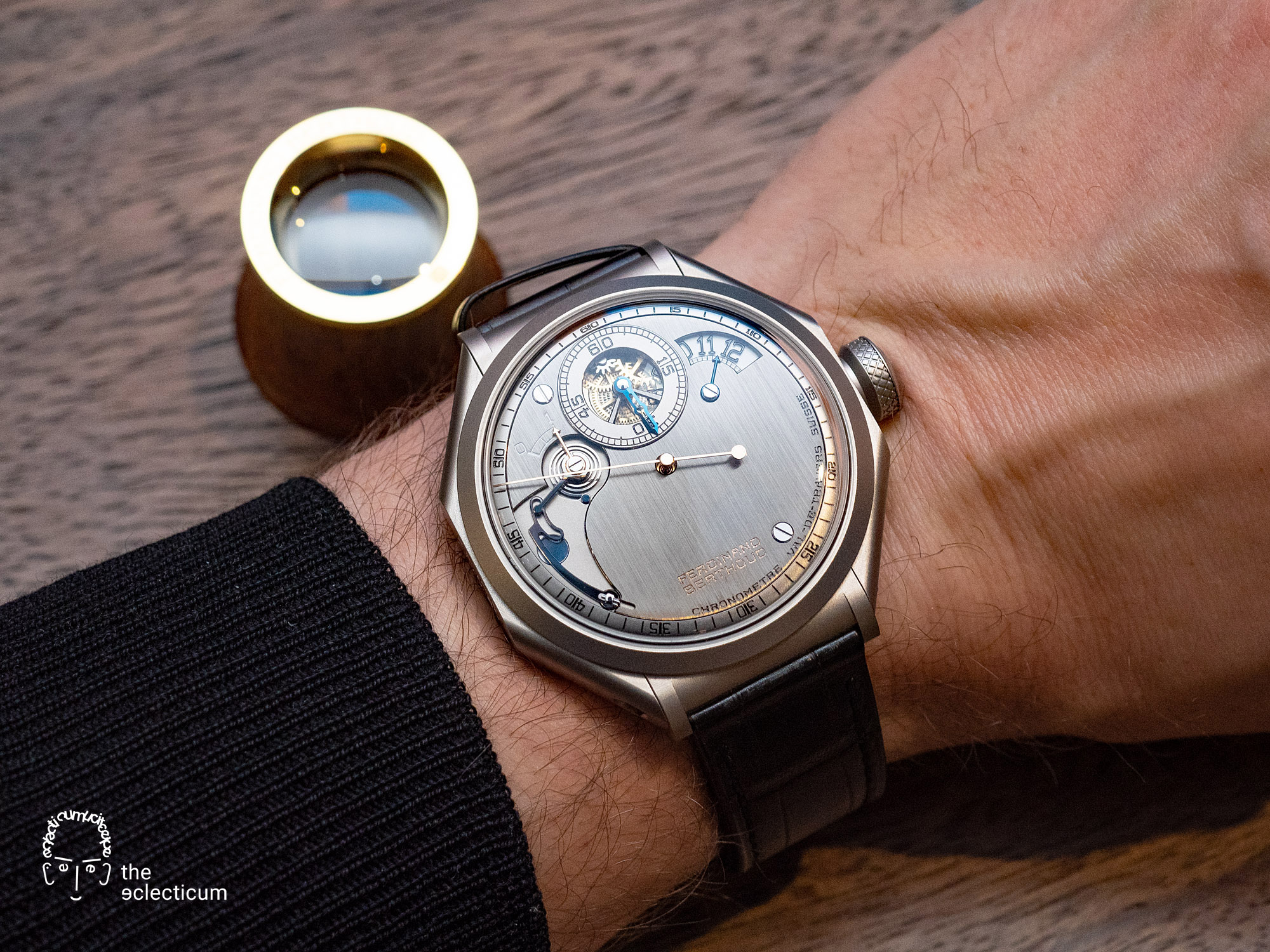 Ferdinand Berthoud Chronometry FB 1R chronometer tourbillon wristshot