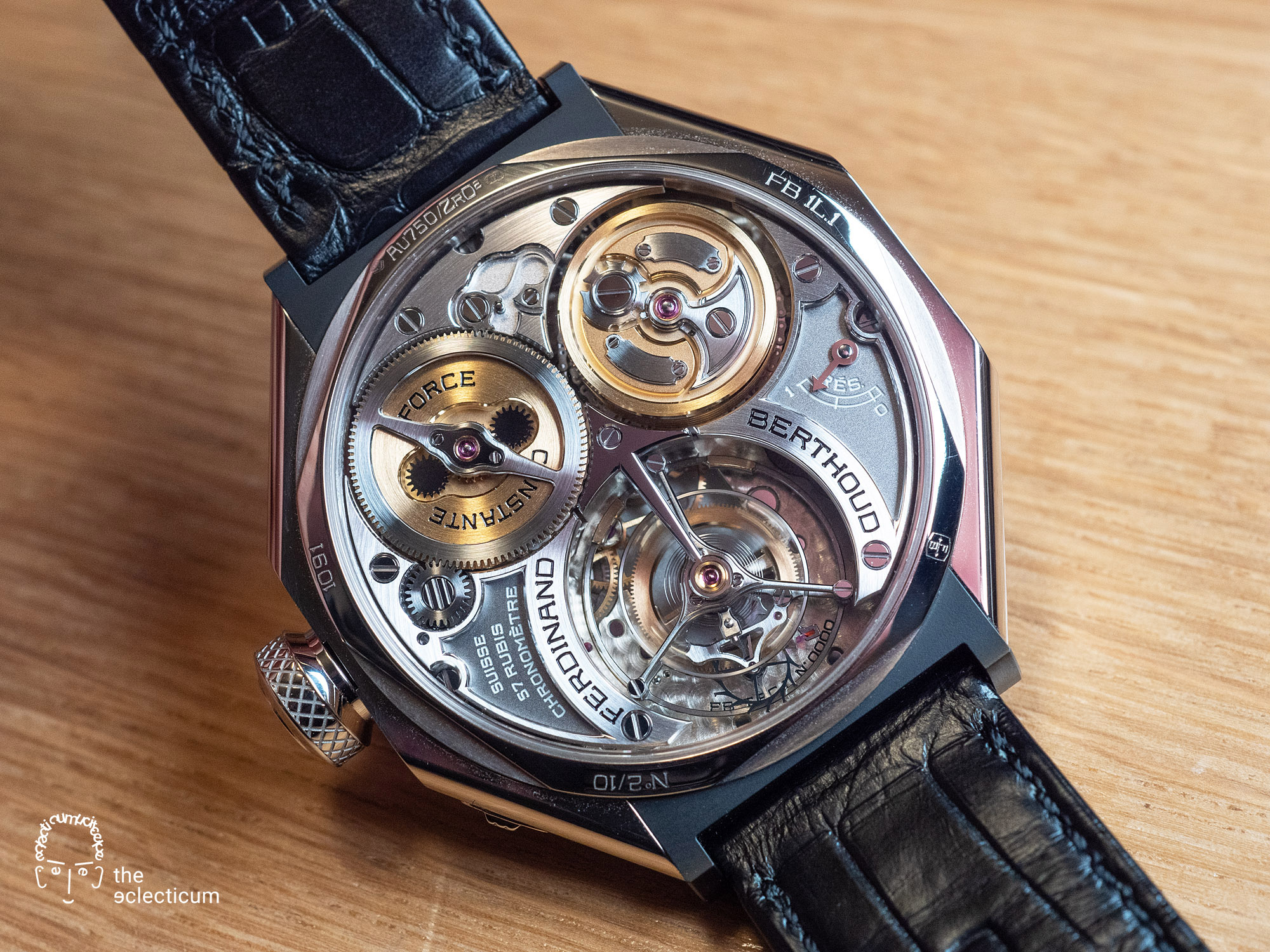 Ferdinand Berthoud Chronometry FB 1L chronometer tourbillon movement