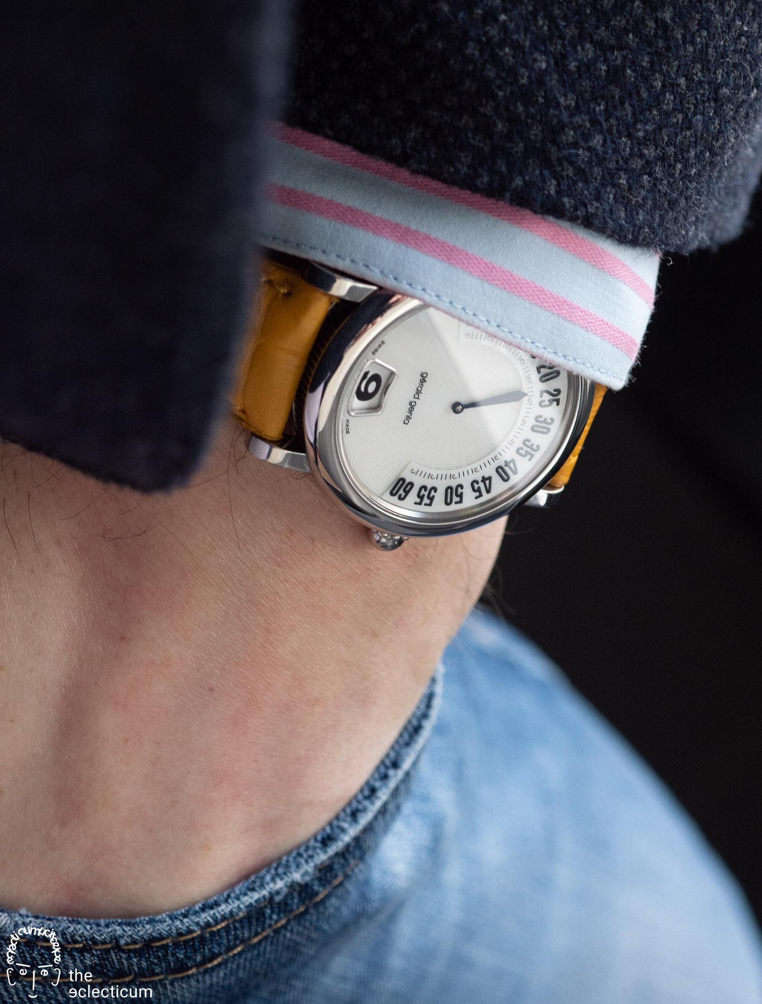 Gerald Genta Retro Classic wristshot
