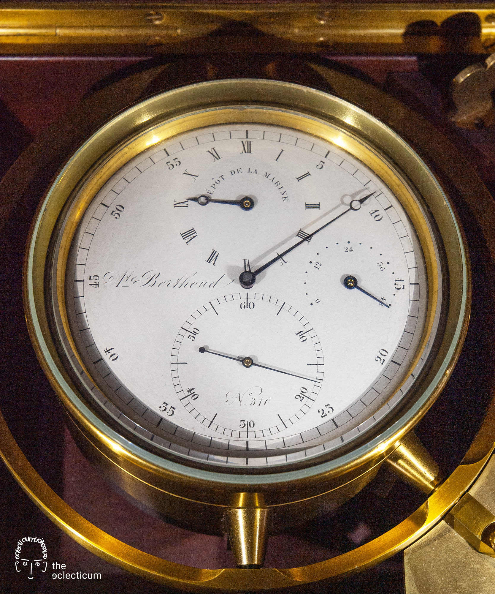 Ferdinand Berthoud marine chronometer Depot Scheufele collection