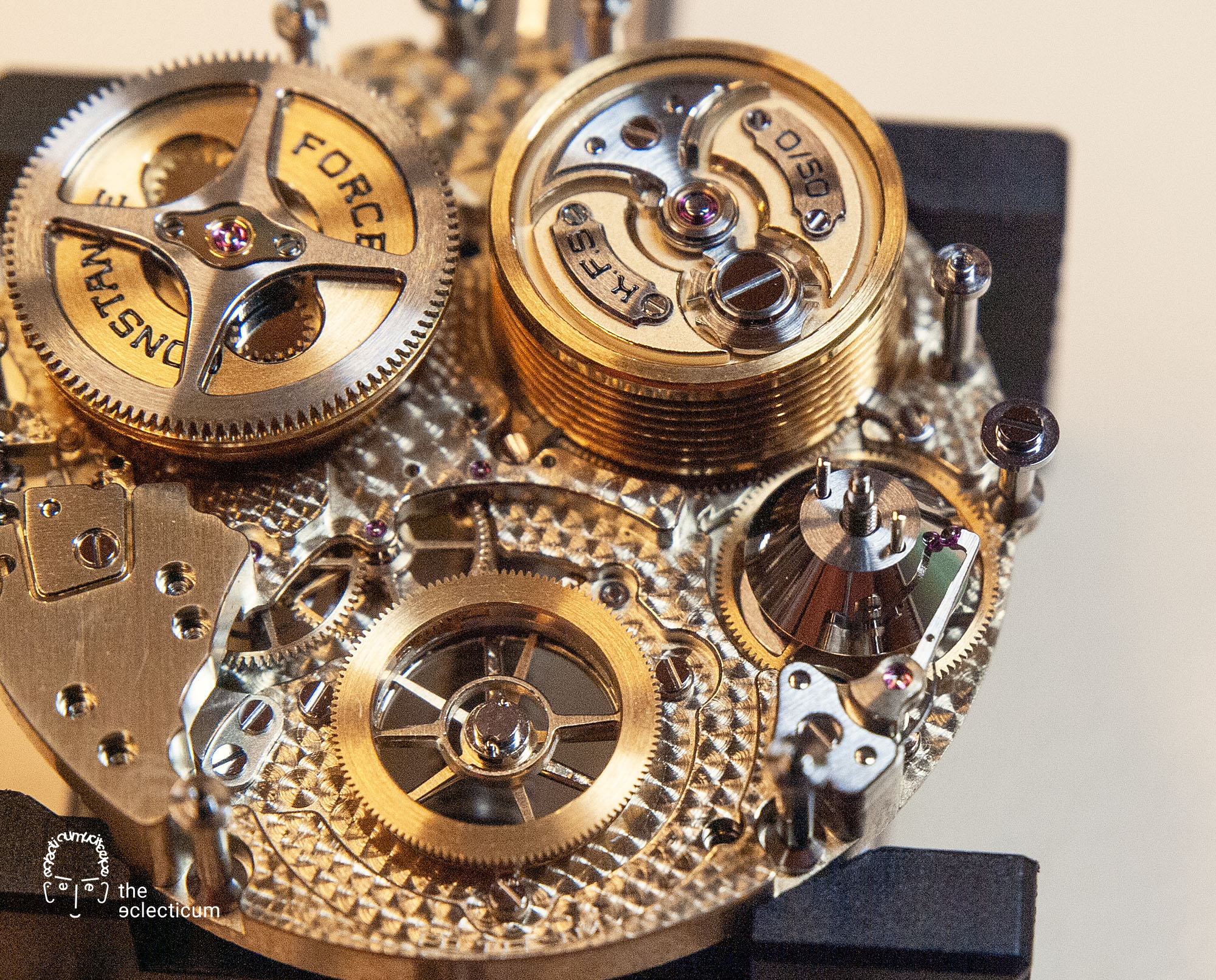 Ferdinand Berthoud Chronometry FB 1R 1L 1 chronometer tourbillon assembly watchmaking movement power reserve