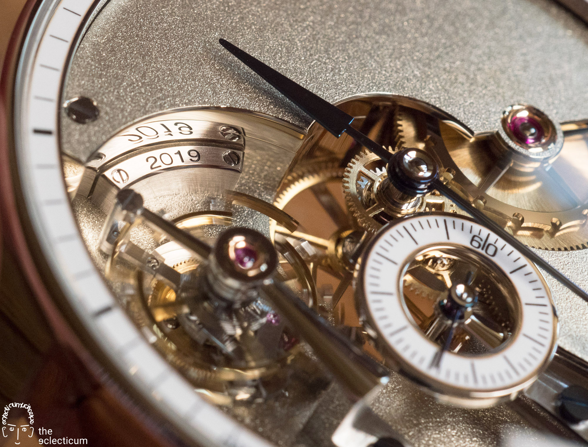 Greubel Forsey Hand Made 1 dial mirror polishing