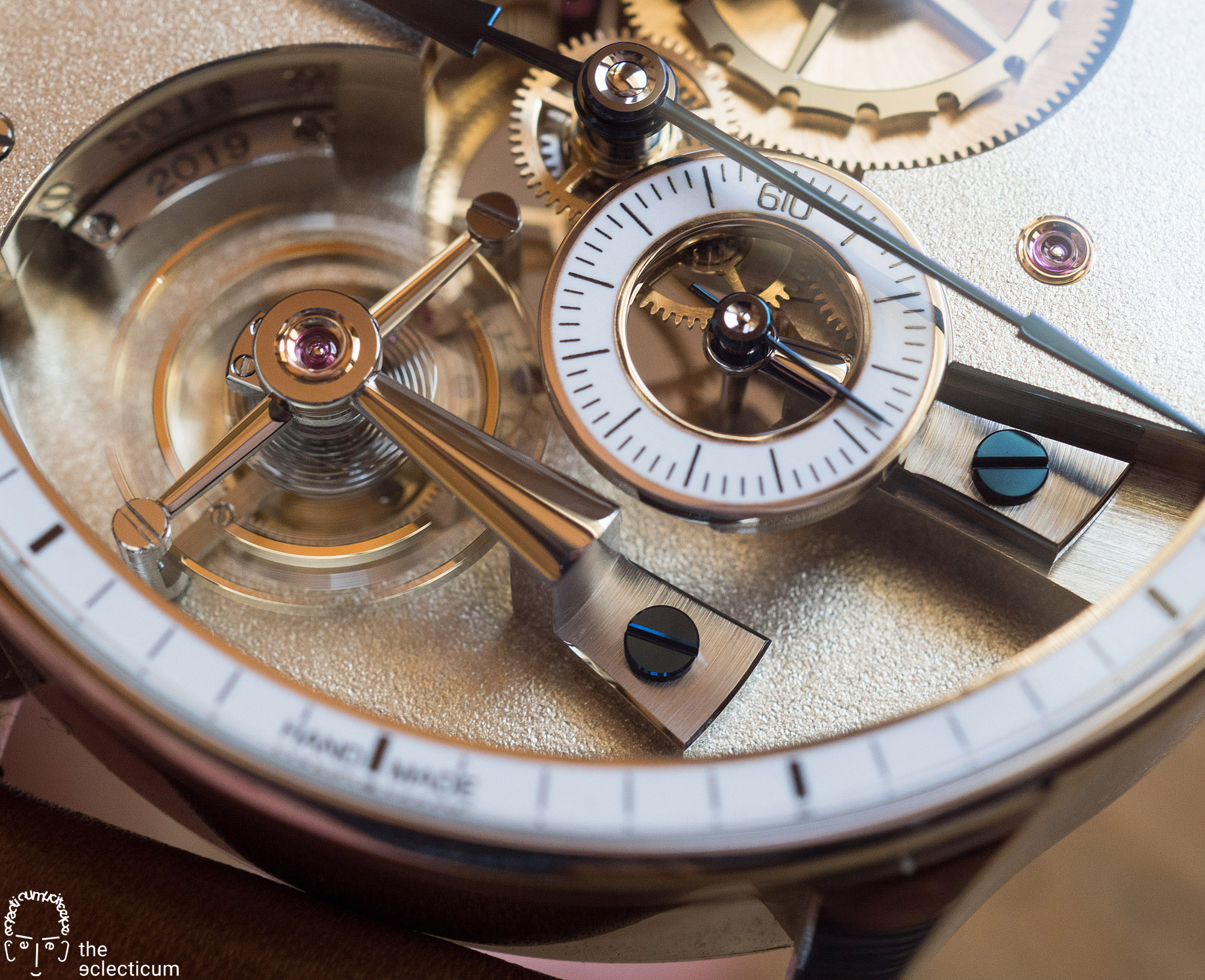 Greubel Forsey Hand Made 1 tourbillon bridge mirror polishing