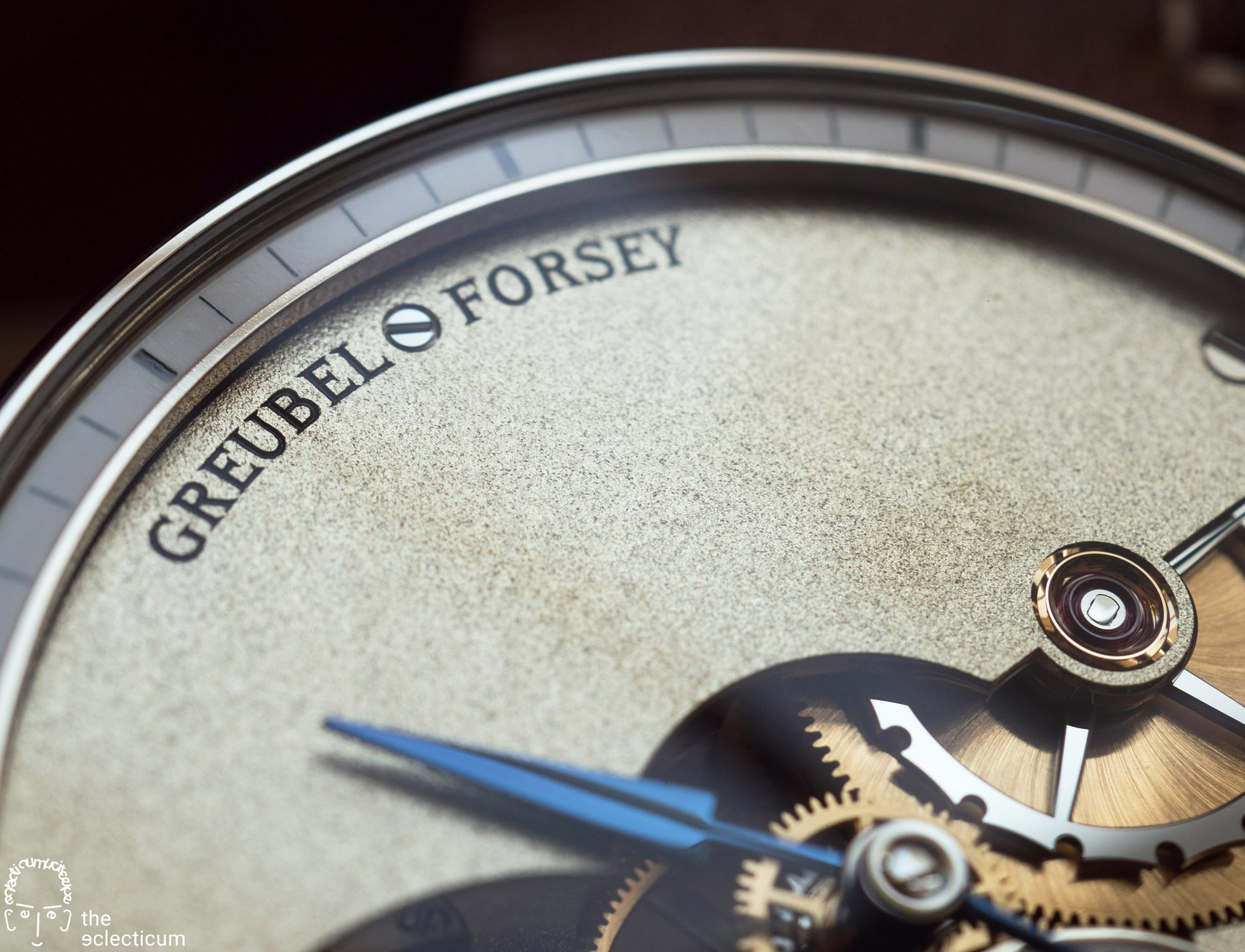 Greubel Forsey Hand Made 1 dial frosting