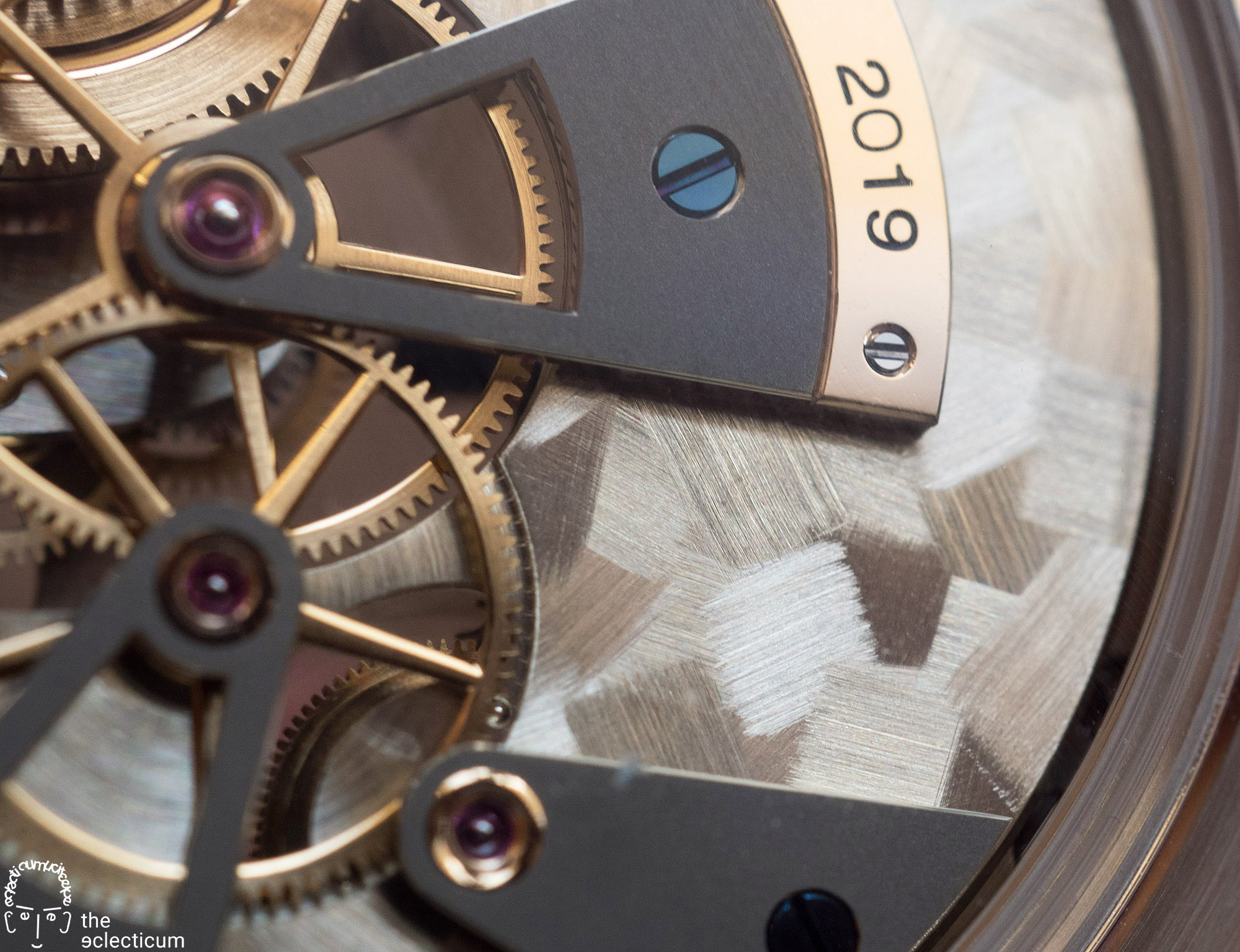 Greubel Forsey Hand Made 1 bridge decoration