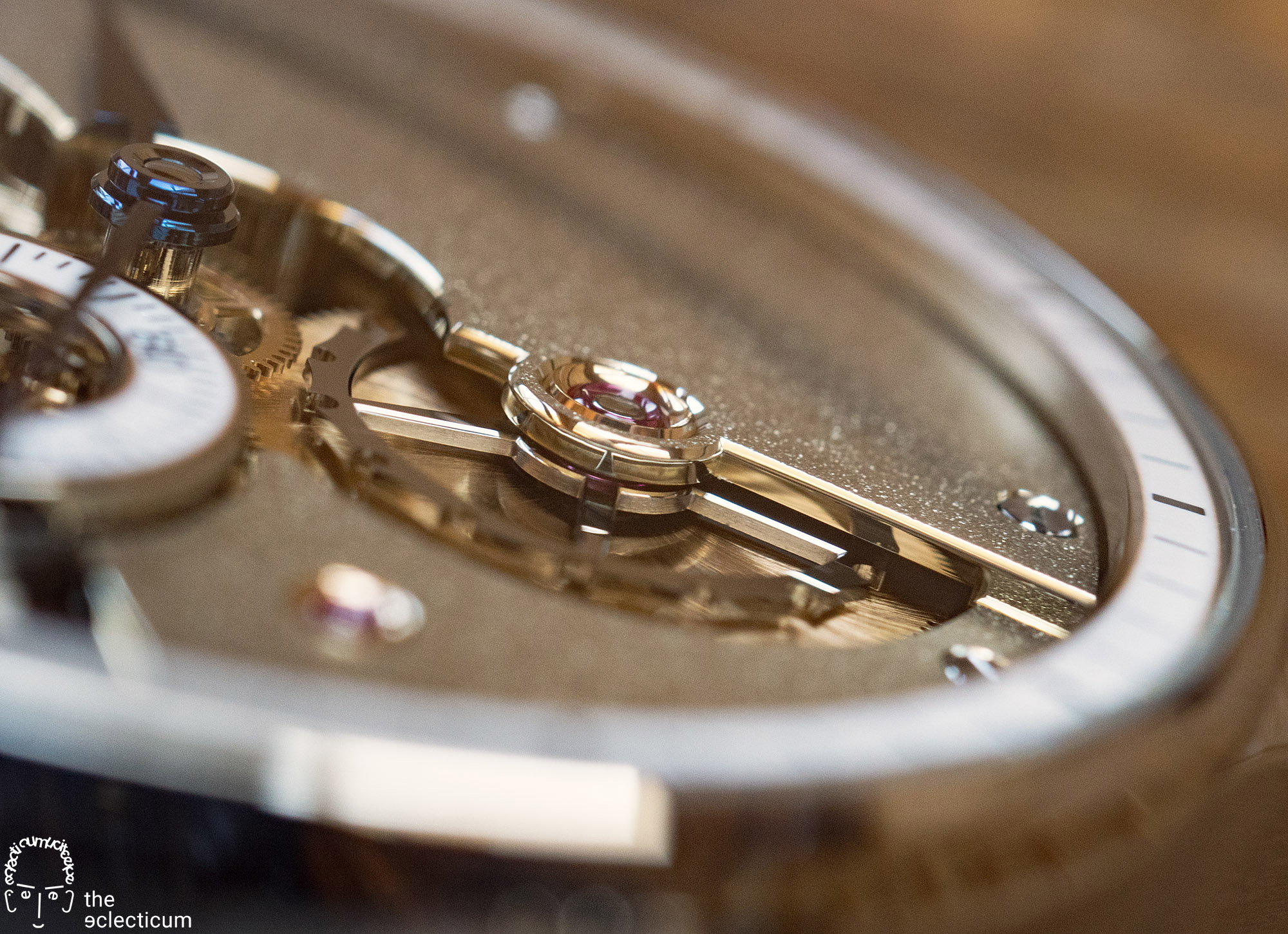 Greubel Forsey Hand Made 1 bridge wheel mirror polishing