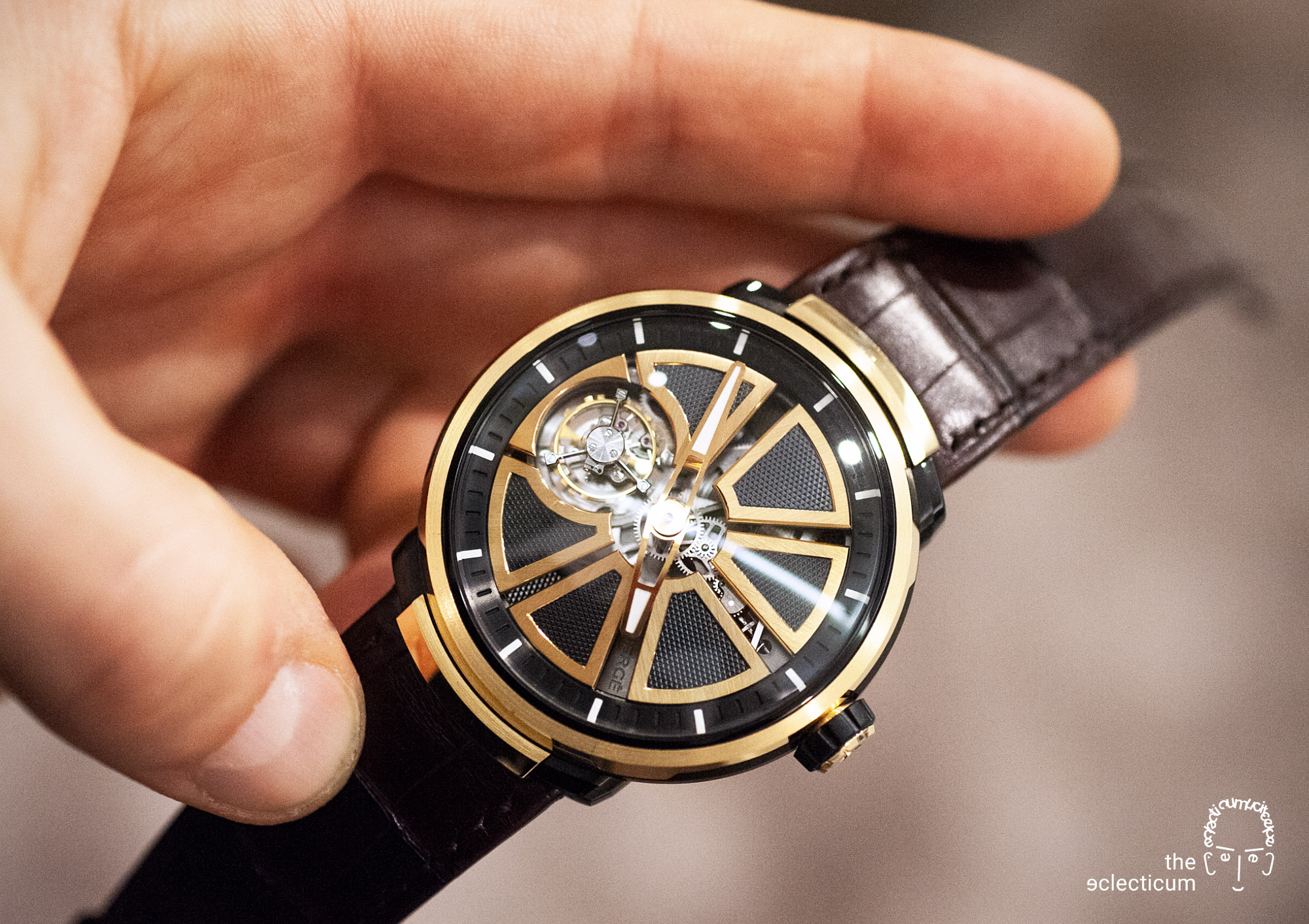 Faberge Visionnaire Tourbillon flying Renaud Papi