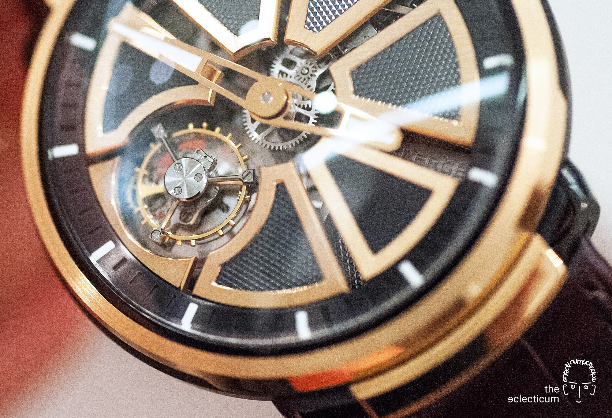 Faberge Visionnaire Tourbillon flying Renaud Papi guillochage