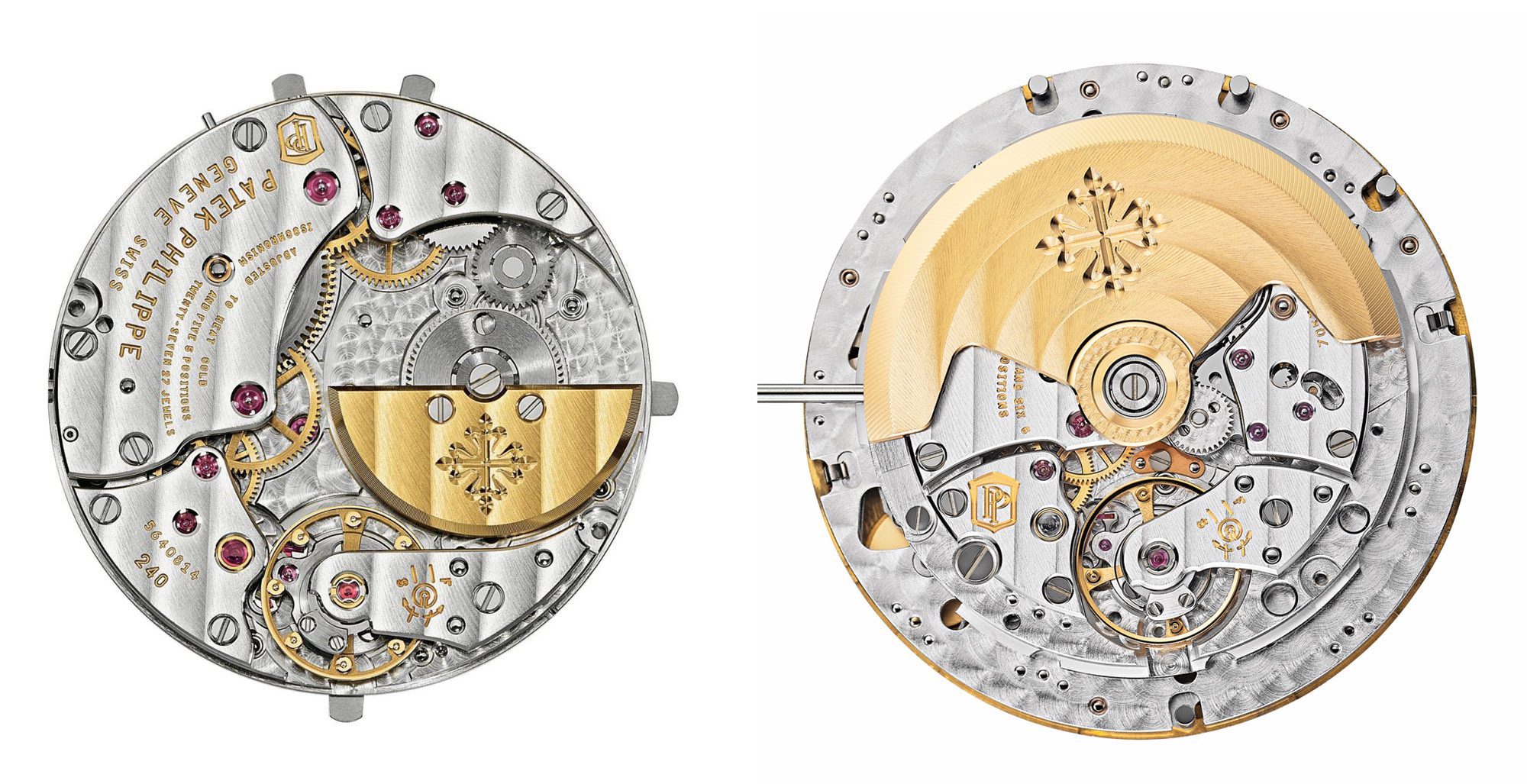 Patek Philippe Cal 240 324 automatic movement micro central rotor