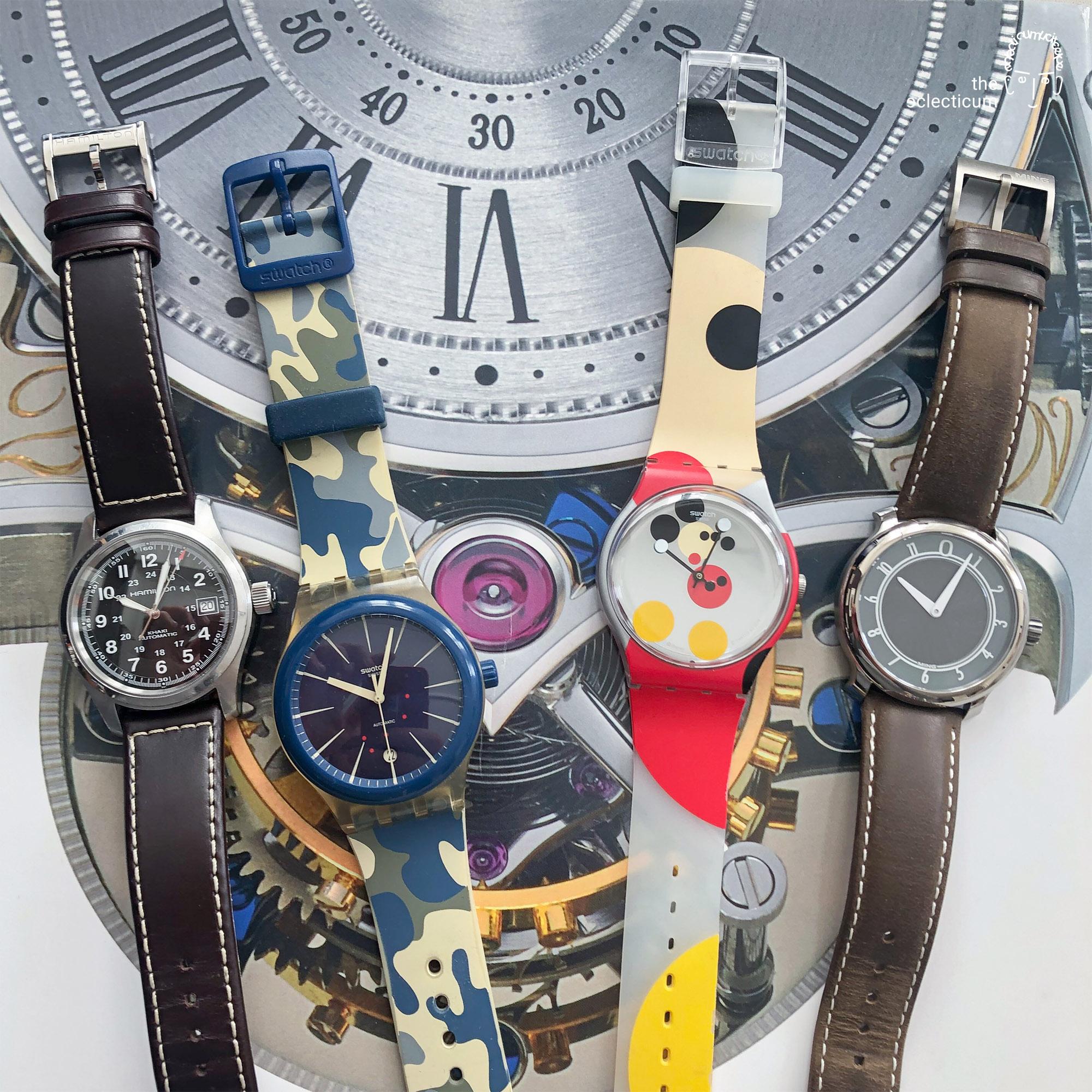 Swatch Sistem51 Hamilton Khaki Field Automatic MING 17.01 wristwatch