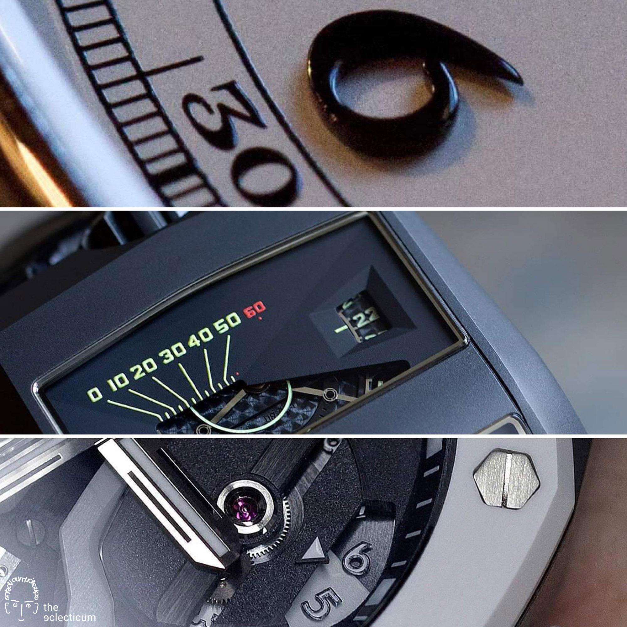 fine watchmaking Patek Philippe Audemars Piguet Royal Oak Urwerk finishing