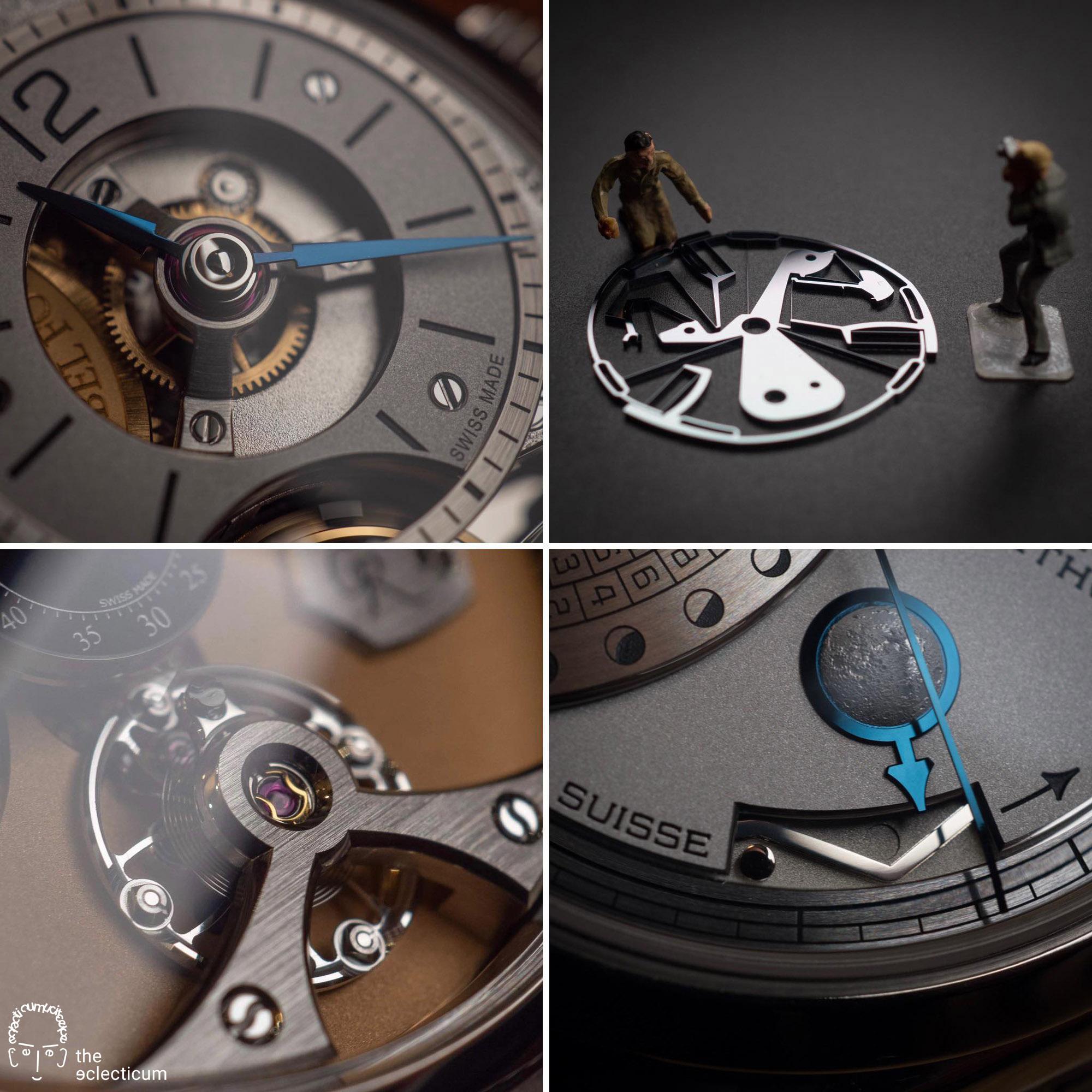 fine watchmaking Ferdinand Berthoud Romain Gauthier Zenith Greubel Forsey silicon finishing