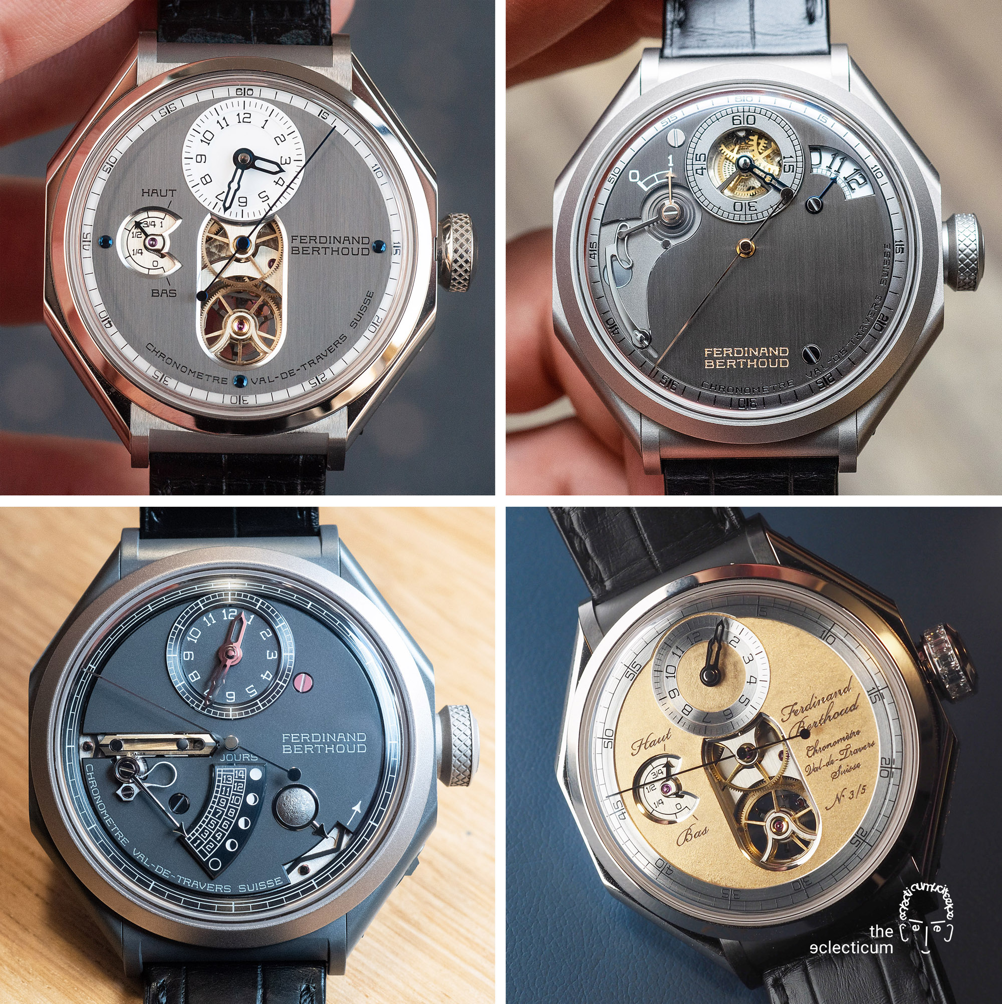Ferdinand Berthoud Chronometry FB 1R 1L 1 chronometer tourbillon
