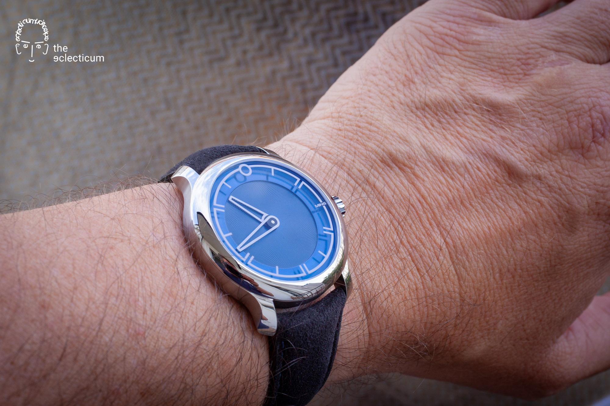 wristshot MING 17.09 BLUE