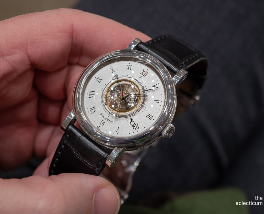 Haldimann H1 Flying central tourbillon ahci independent watchmaking