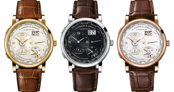 A. Lange & Söhne Lange 1 Time Zone 2020 yellow gold champagne Boutique-Edition white gold black pink gold argenté