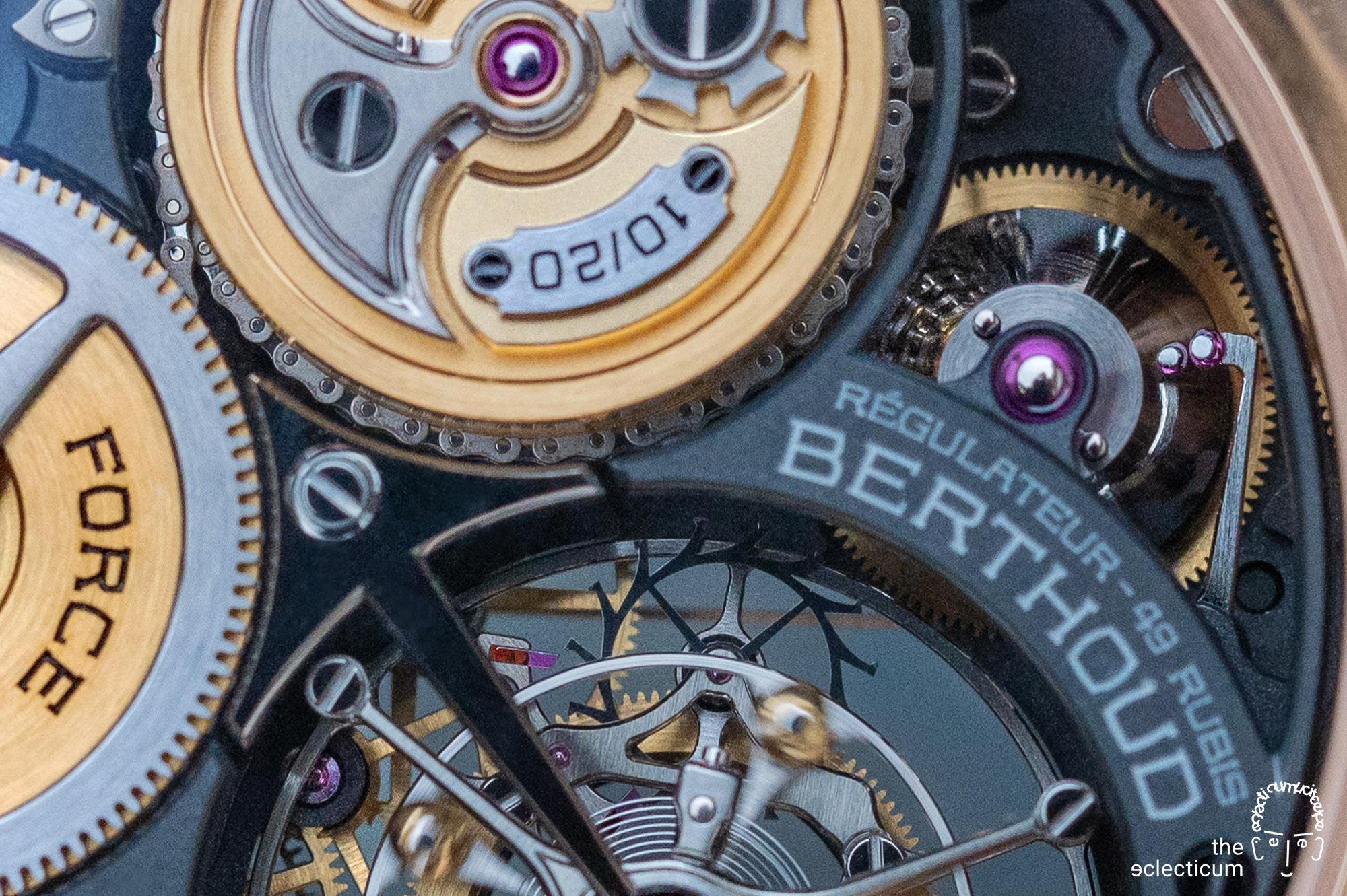Ferdinand Berthoud Regulateur Squelette Calibre FB-T.FC-RS
