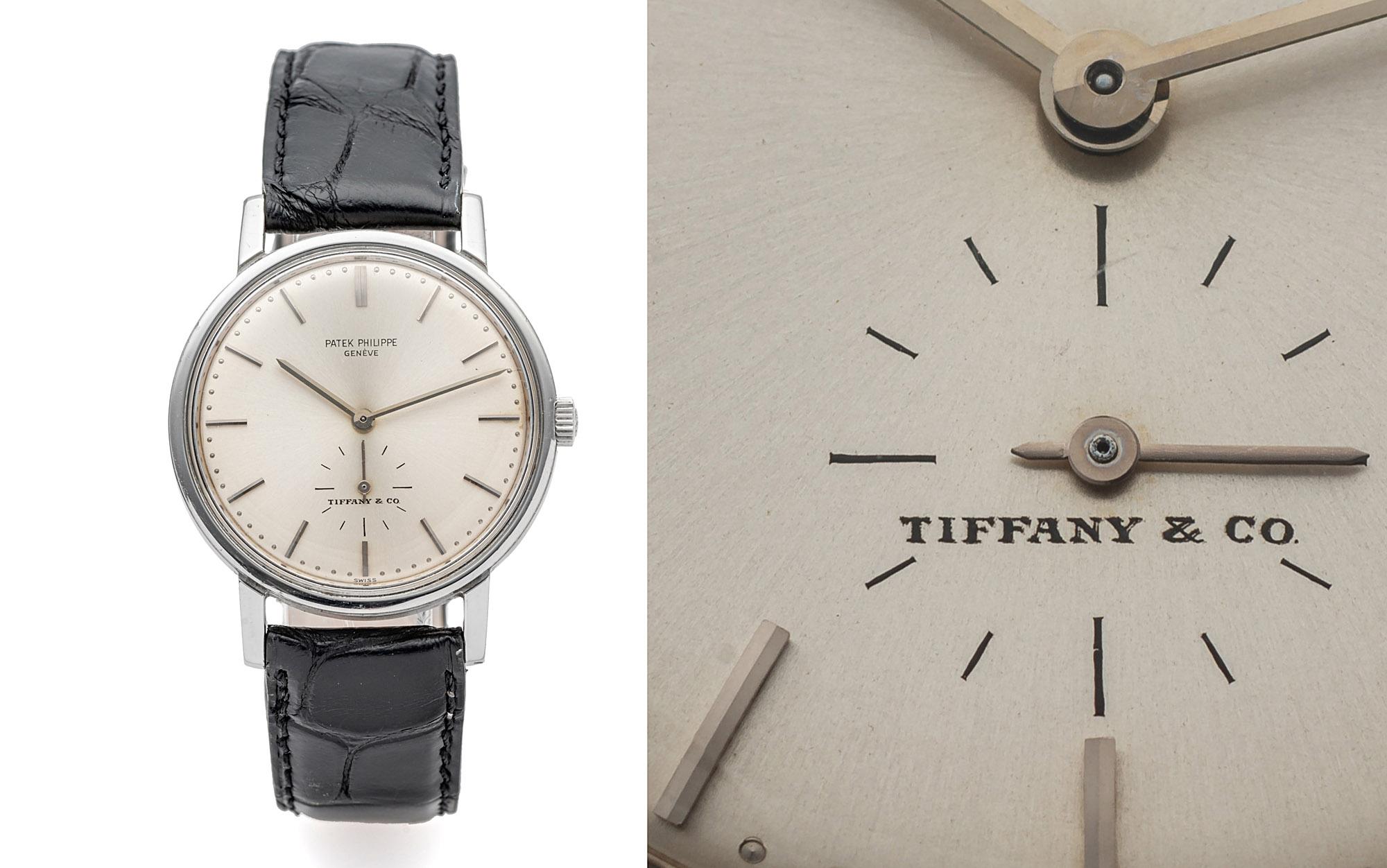 Patek Philippe Ref. 3466, signed Tiffany