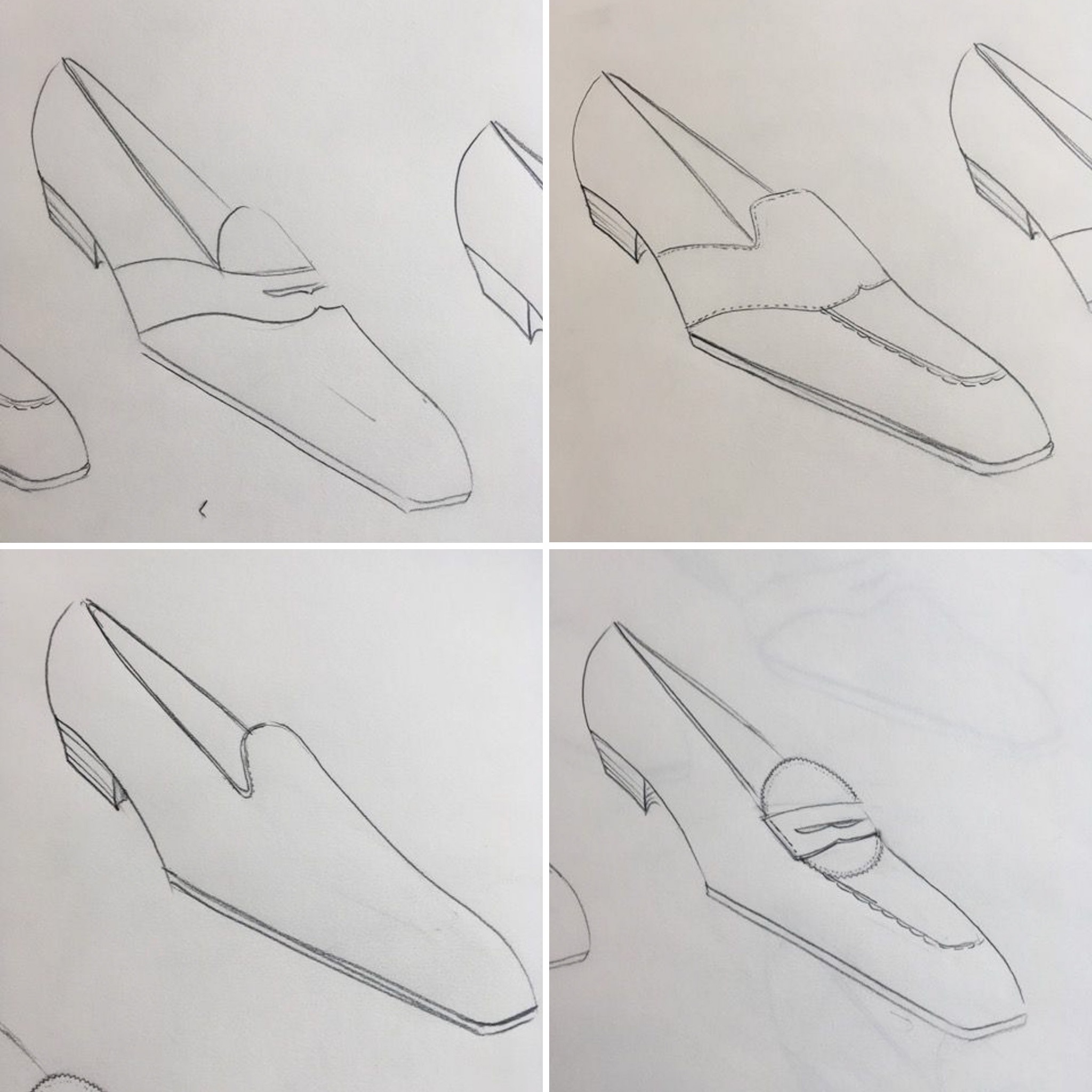 sketches bespoke loafers