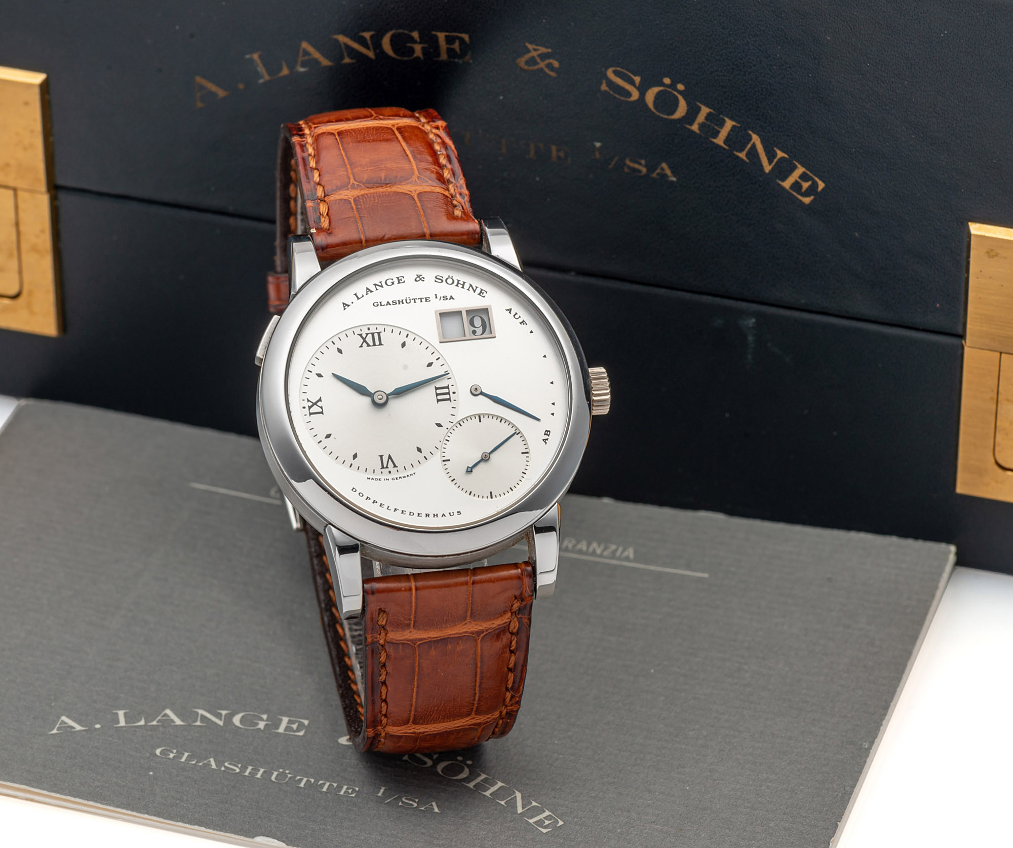 A. Lange & Söhne Lange 1 Stainless Steel