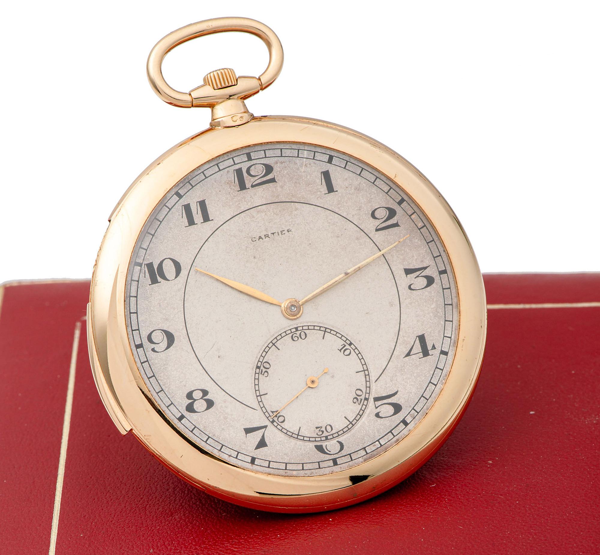 Cartier Minute Repeater Pocket Watch European Watch & Clock Companyy