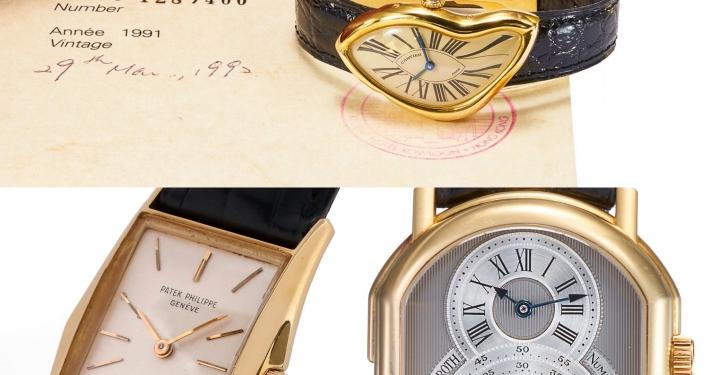 Antiquorum Auction May 2020 Patek Philippe Ref. 2554 Manta Ray Cartier Crash Watch Daniel Roth Tourbillon Regulator