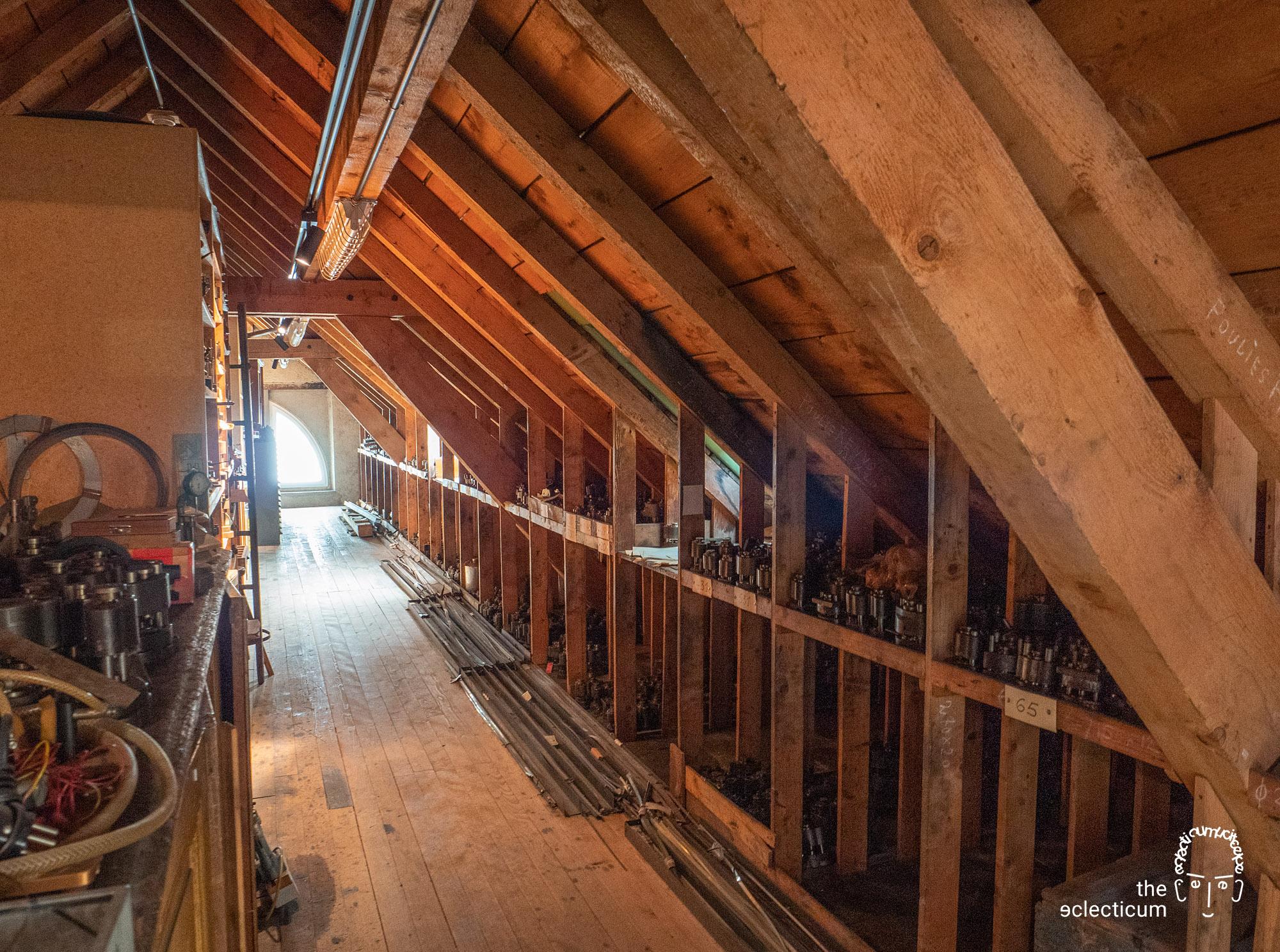 Zenith manufacture Le Locle attic El Primero Charles Vermot