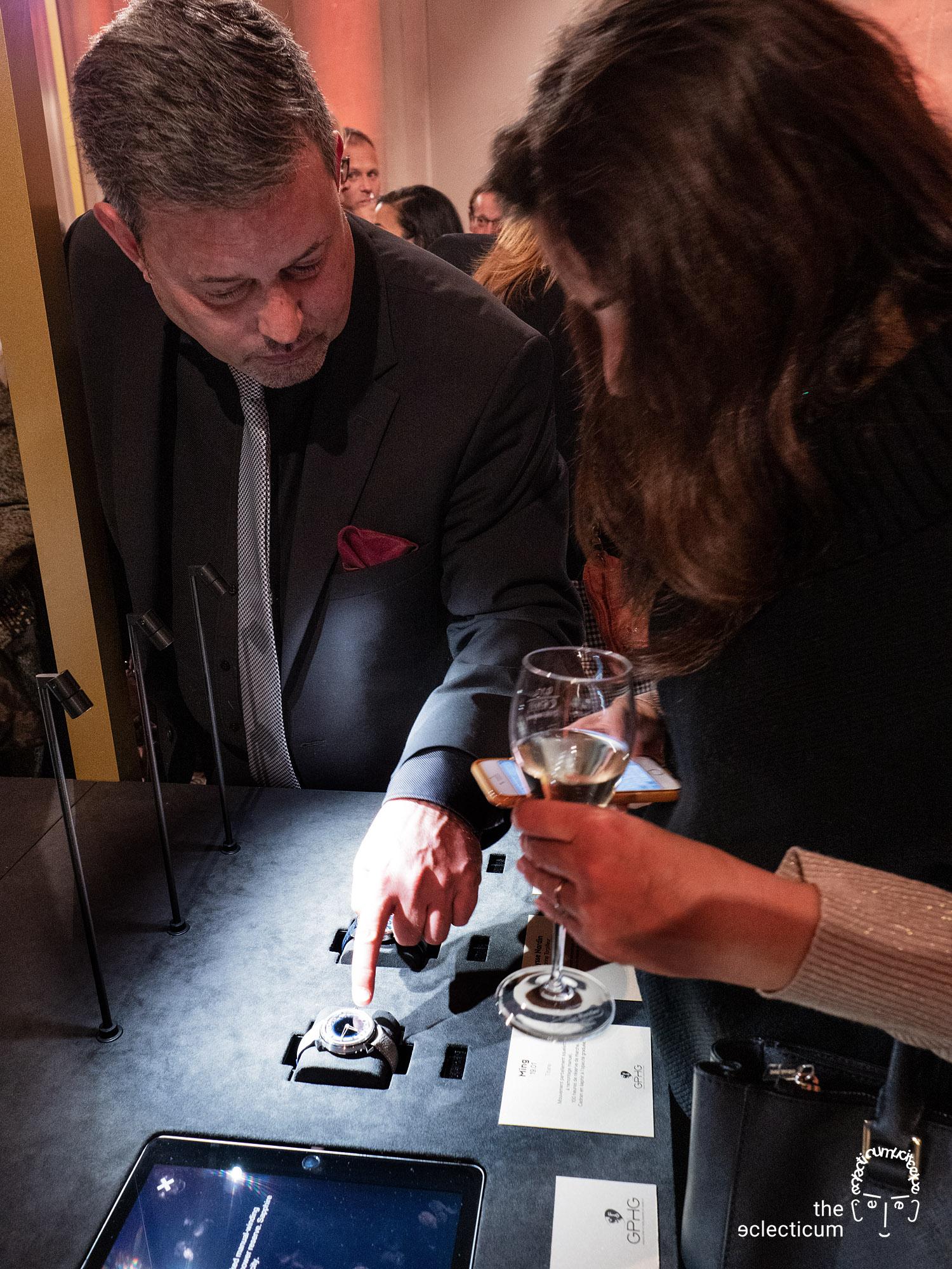 Grand Prix d'Horlogerie de Genève GPHG Travelling Exhibition
