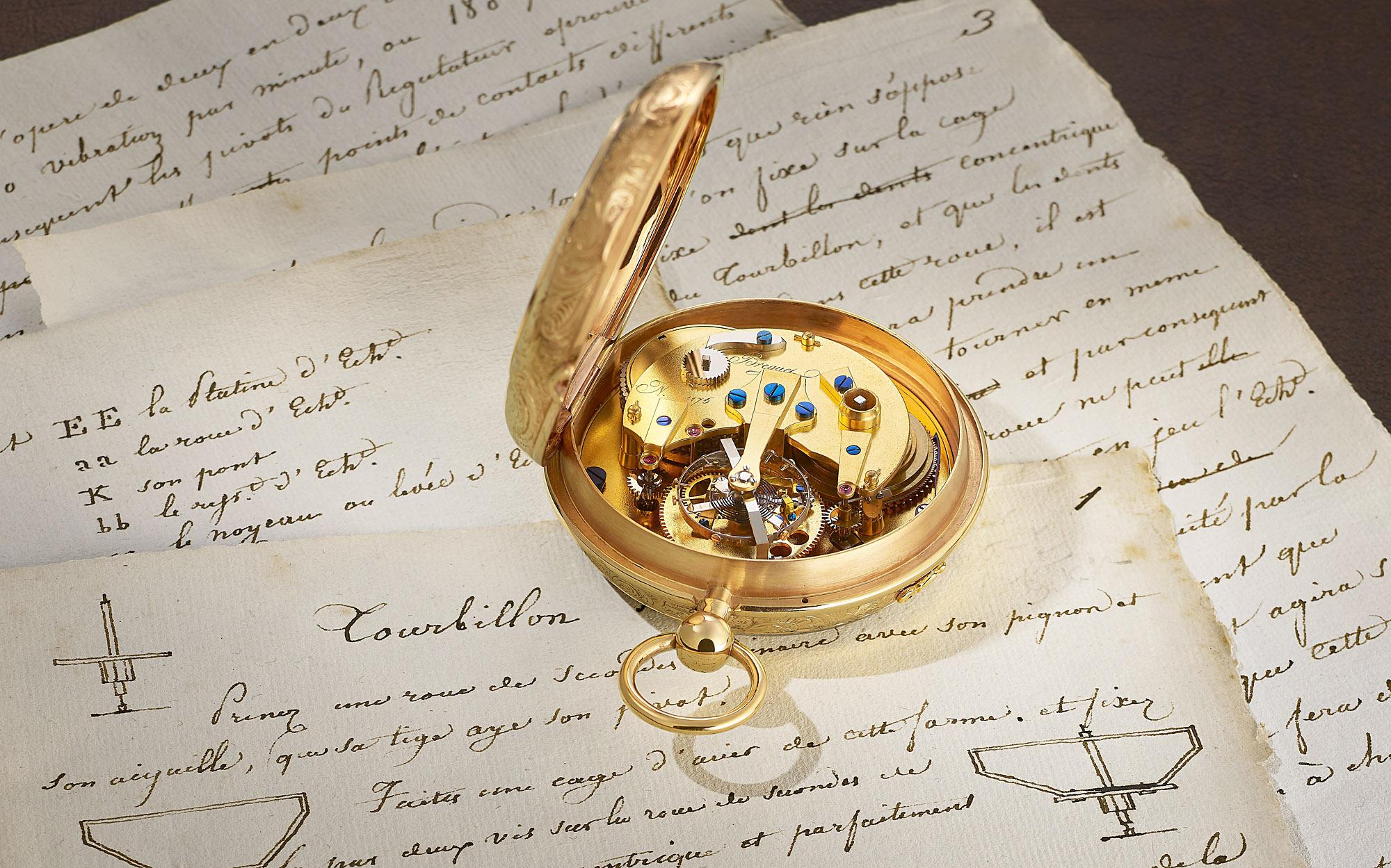 Breguet Pocket Watch Tourbillon No. 1176 natural escapement