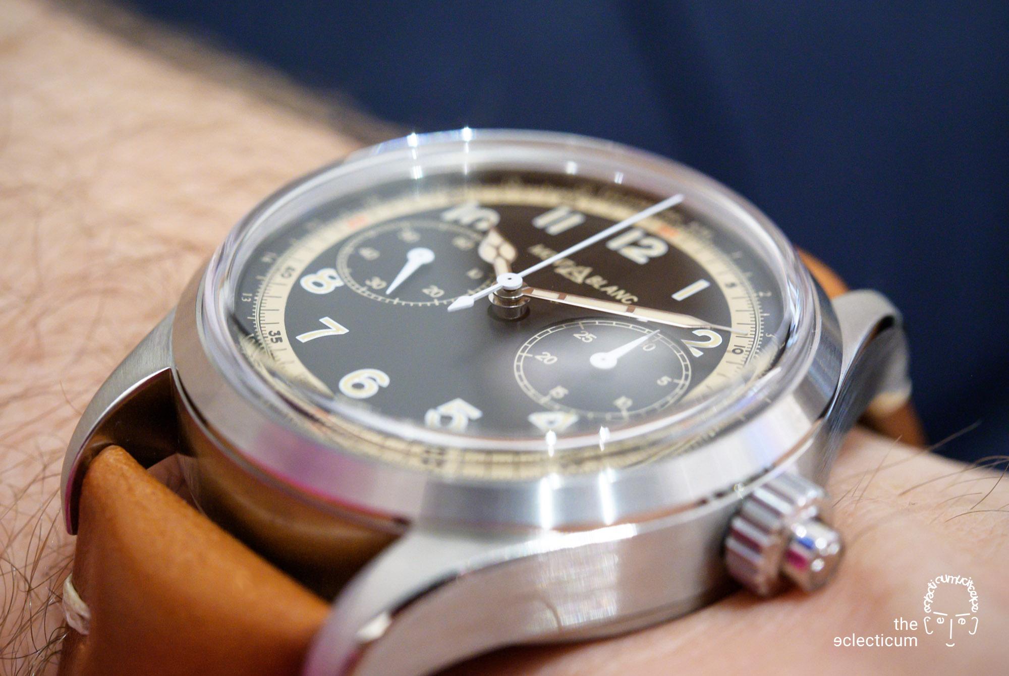 Montblanc 1858 Monopusher Chronograph automatic wristshot