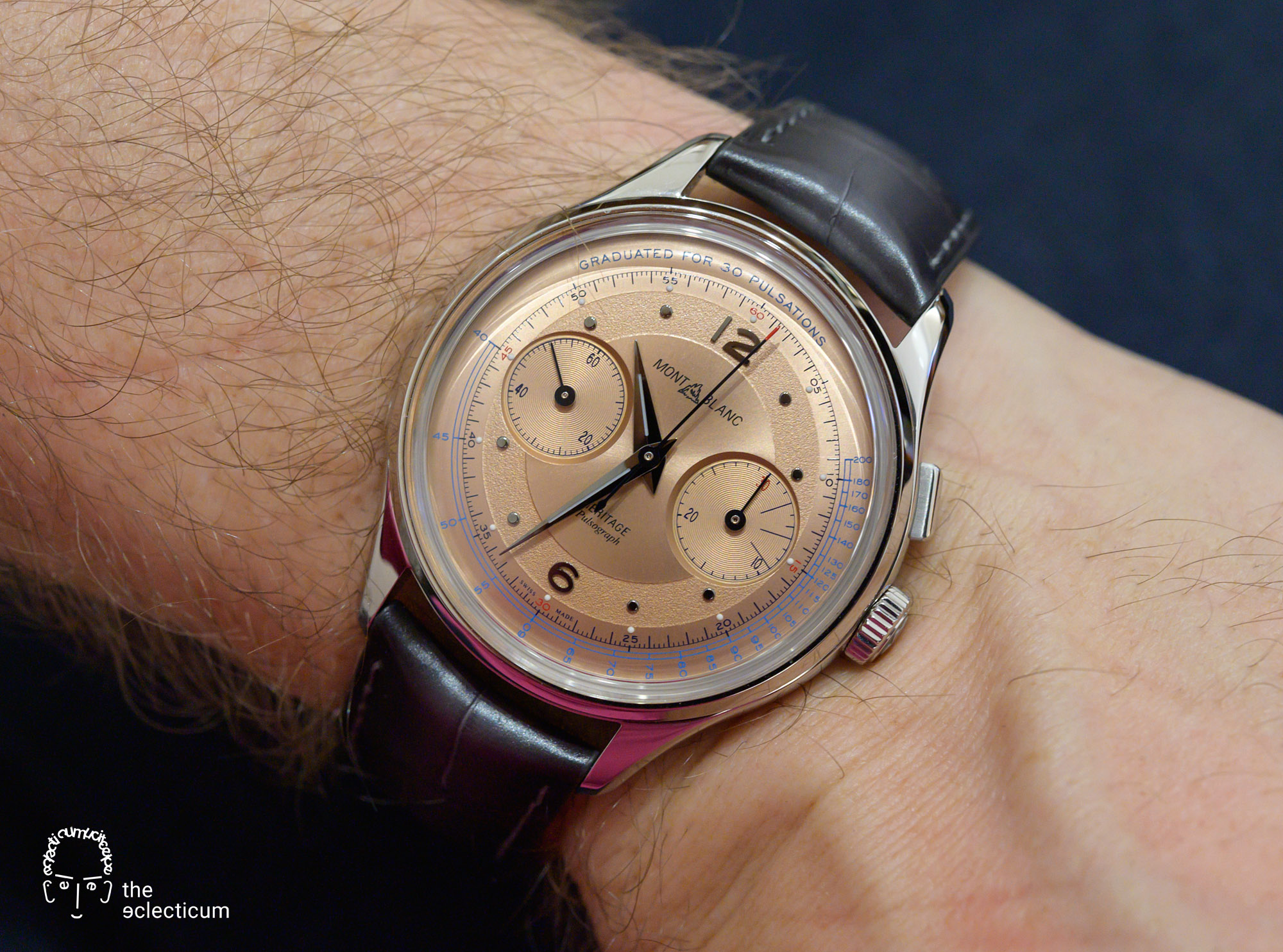 Montblanc 2. Heritage Pulsograph Manufacture Chronograph
