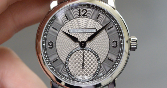 Schwarz Etienne Roma Synergy by Kari Voutilainen guilloche micro-rotor manufacture