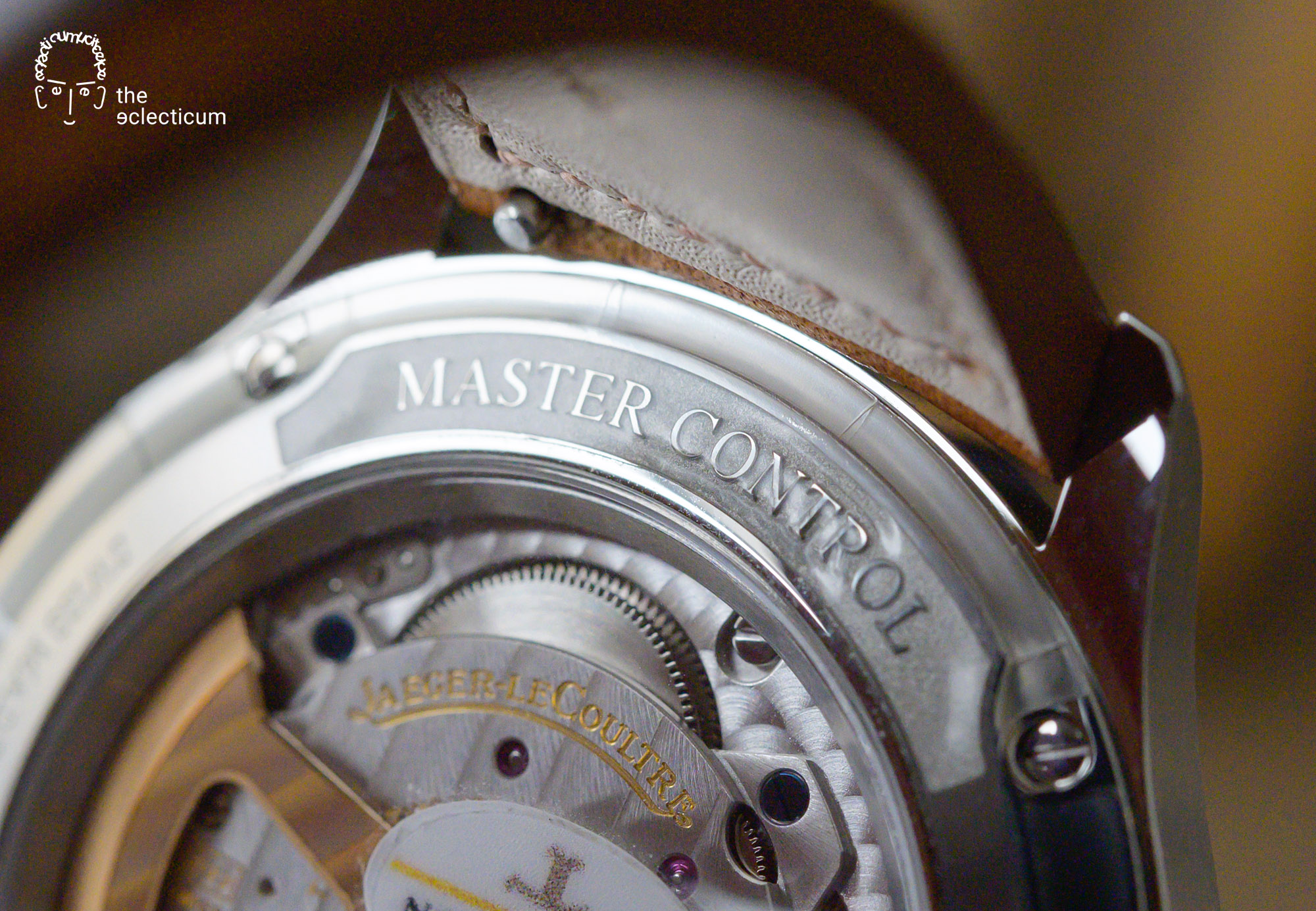 Jaeger-LeCoultre Master Control Date 2020 Caseback Cal. 899