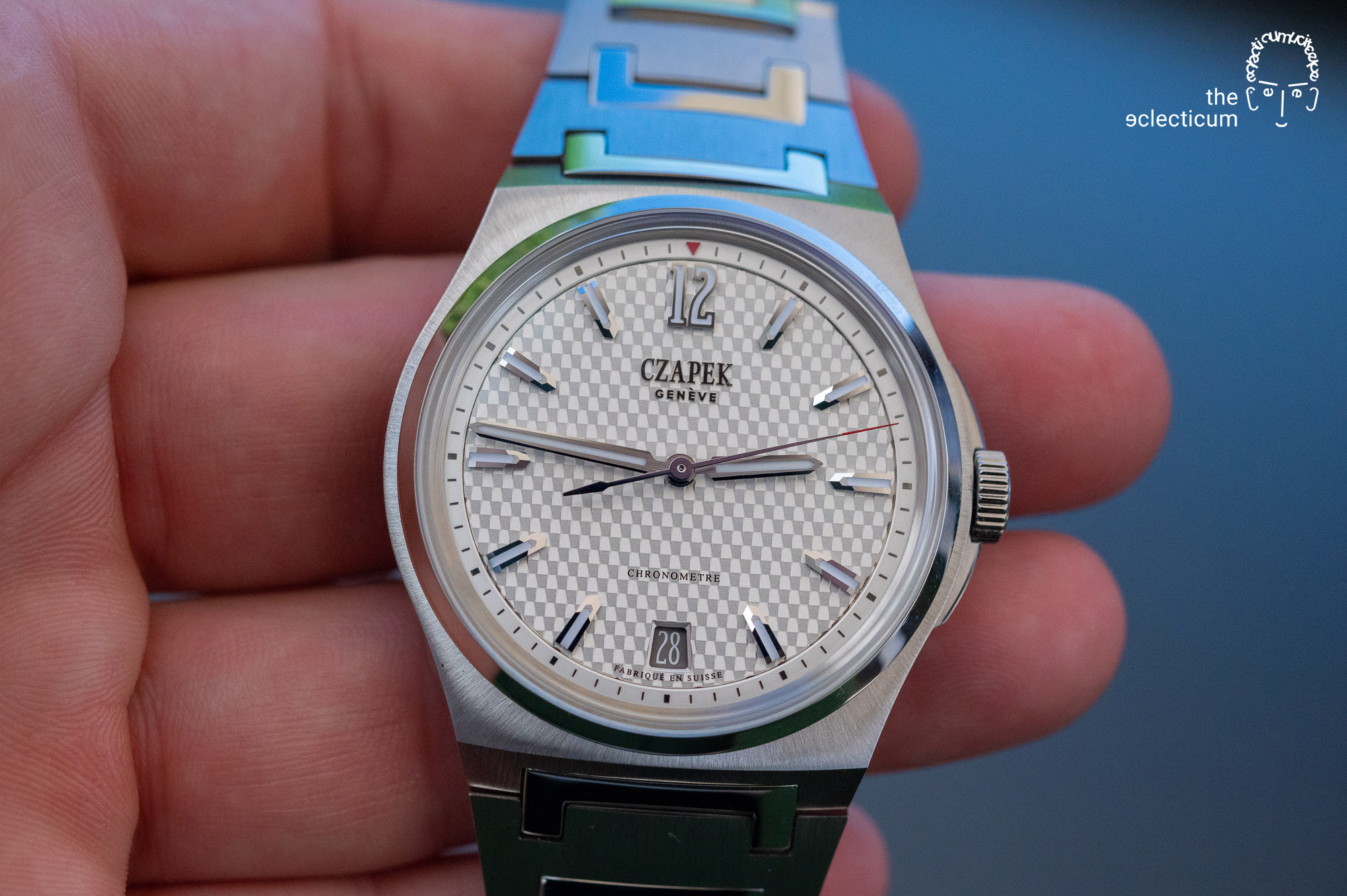 Czapek & Cie Antarctique Passage de Drake stainless steel sports watch