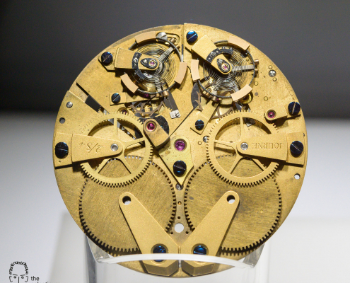 François-Paul Journe resonance pocket watch movement 1984